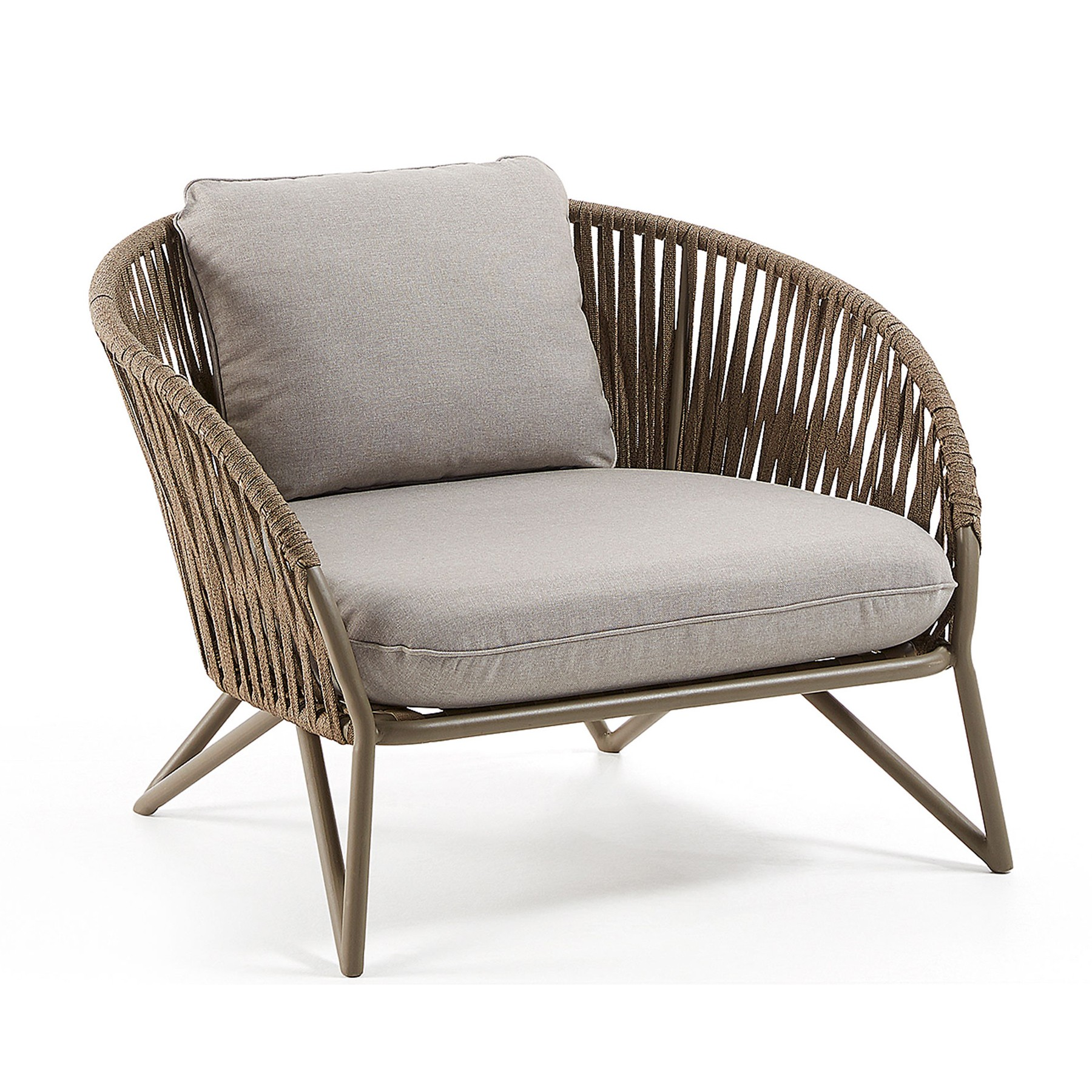 Poya Woven Rope Armchair