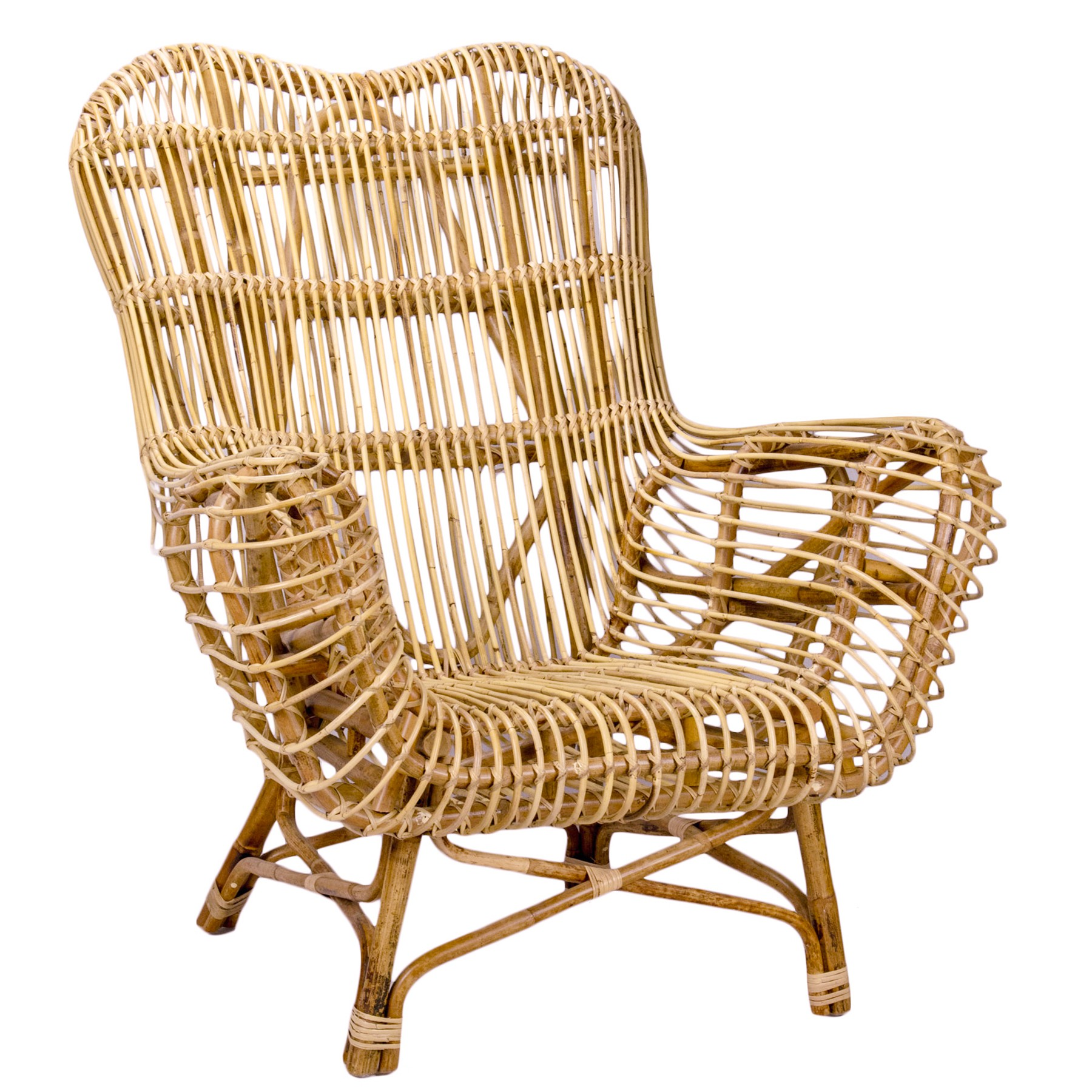 Kingstown Rattan Lounge Armchair