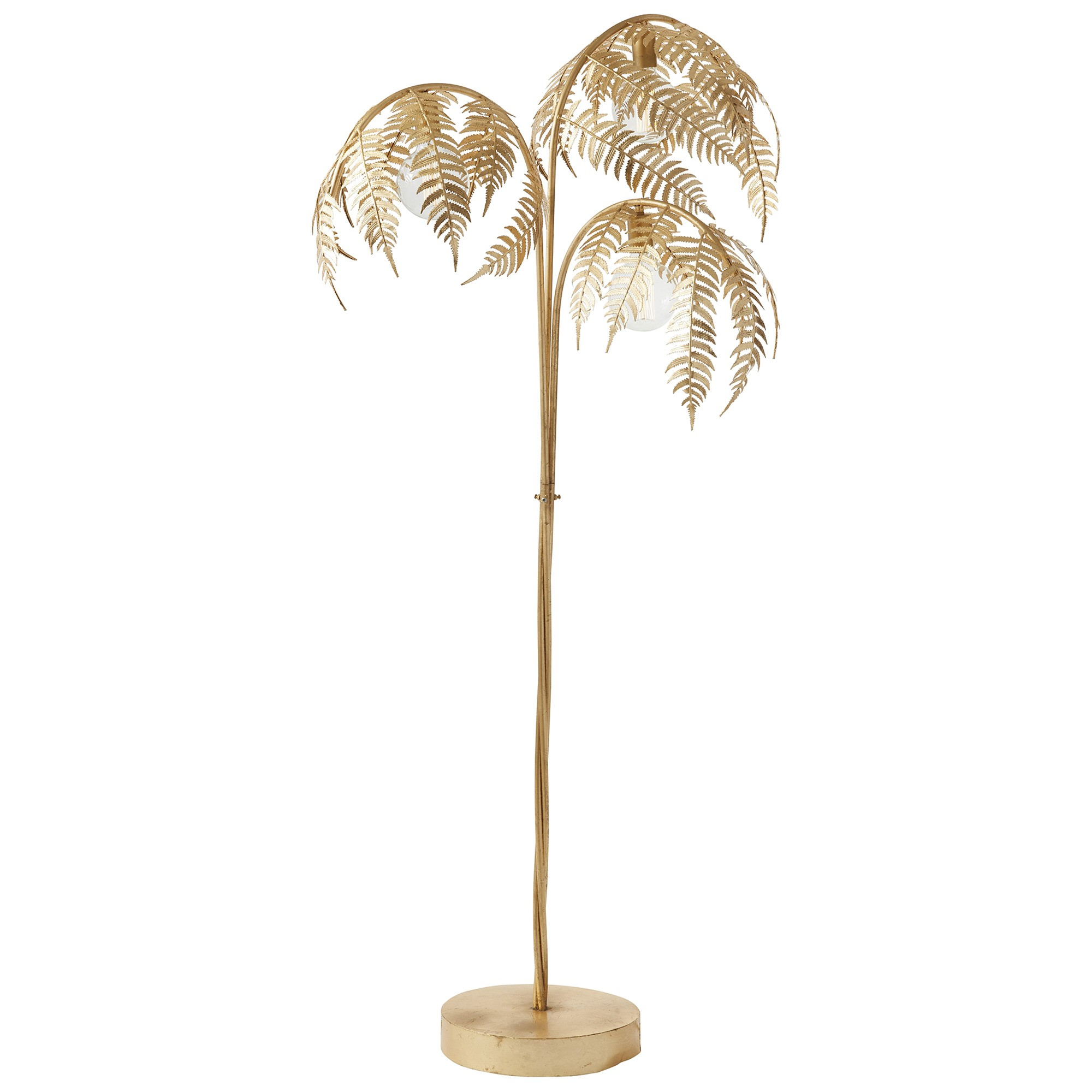 Palm Iron Floor Lamp