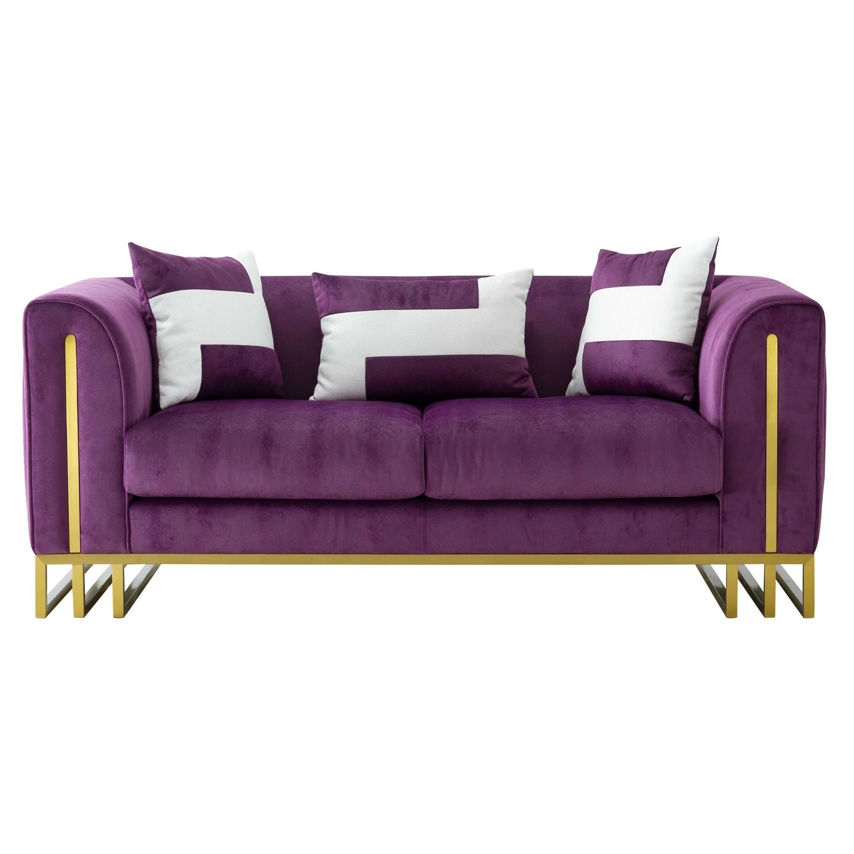 Lonetto Fabric Sofa, 2 Seater