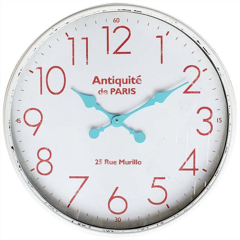 Monceau 60cm Metal Wall Clock