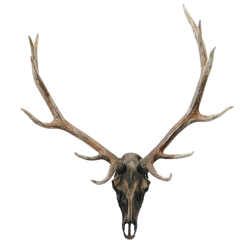Weyburn Deer Skull 115cm Wall Decor