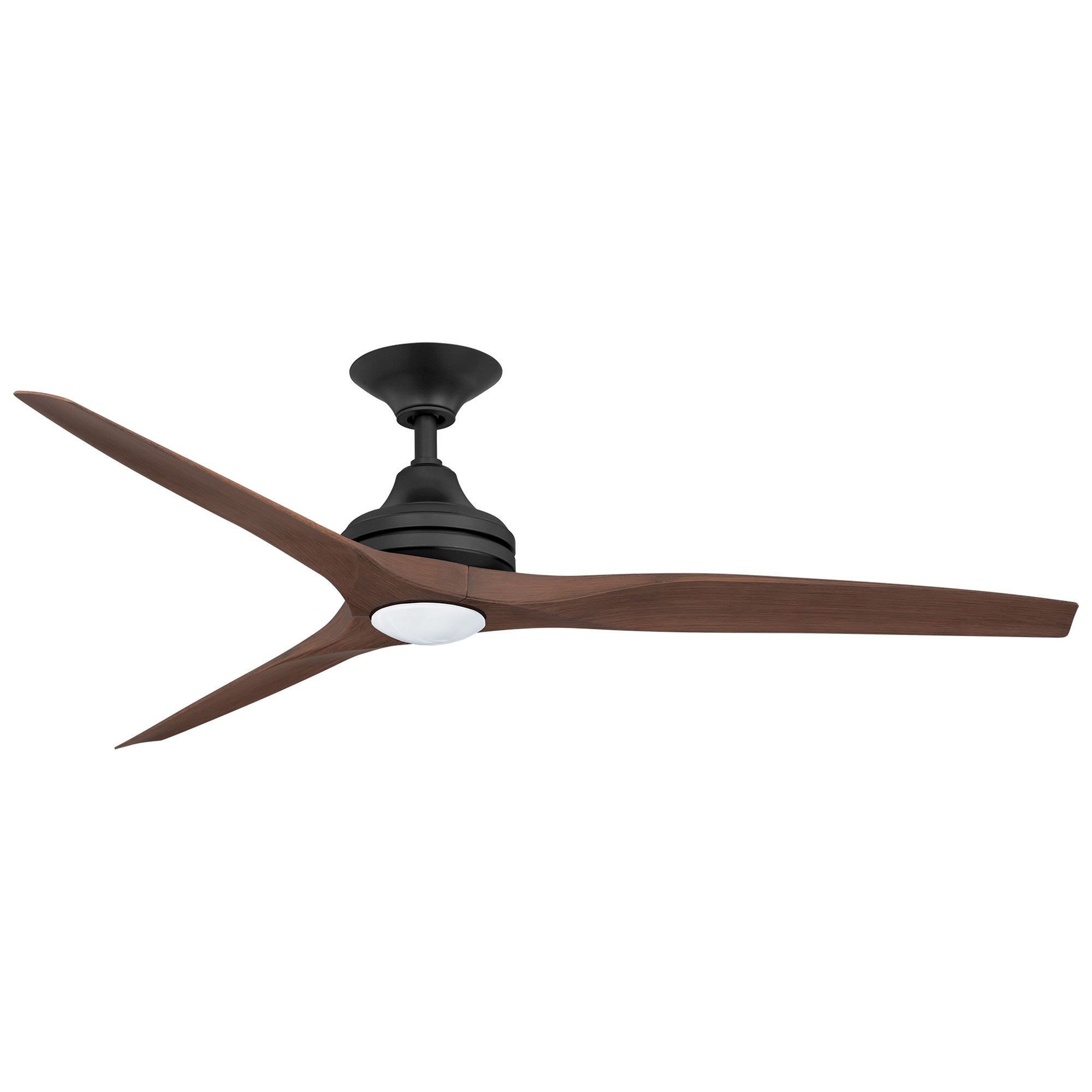 Threesixty Spitfire Ceiling Fan with LED Light, Polymer Blades, 152cm/60
