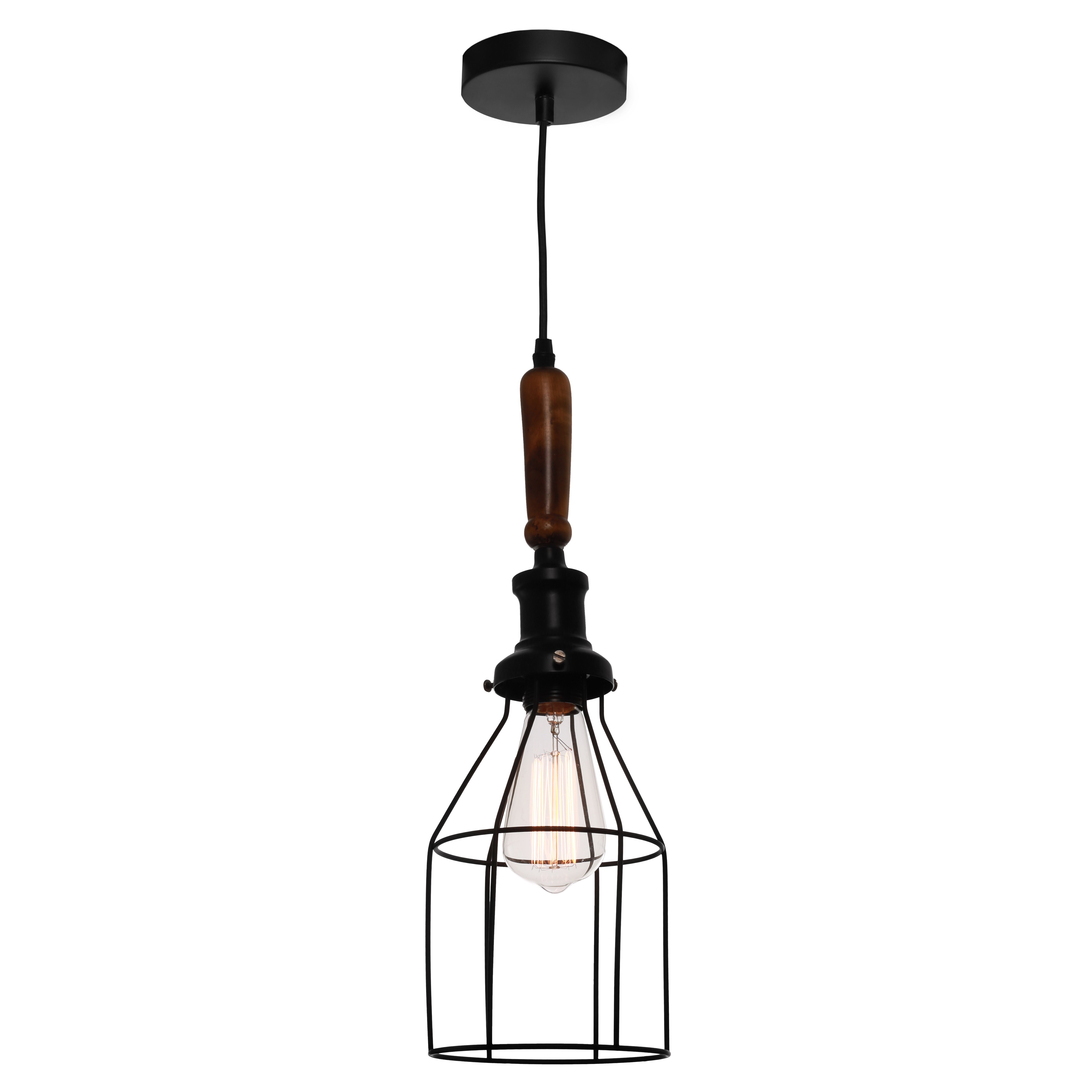 Spindle Commercial Grade Metal Pendant Light