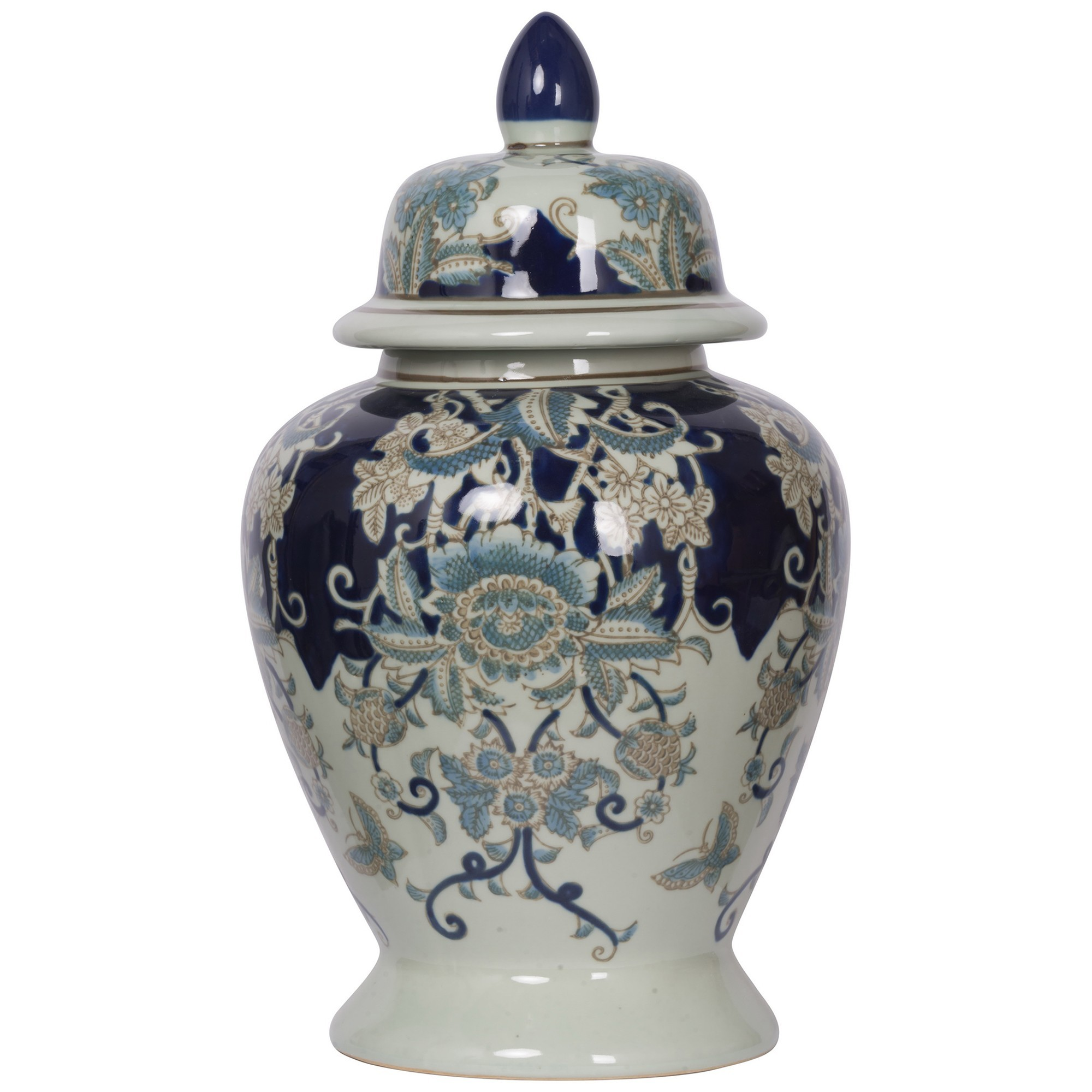 Yunmeng Porcelain Ginger Jar, Small