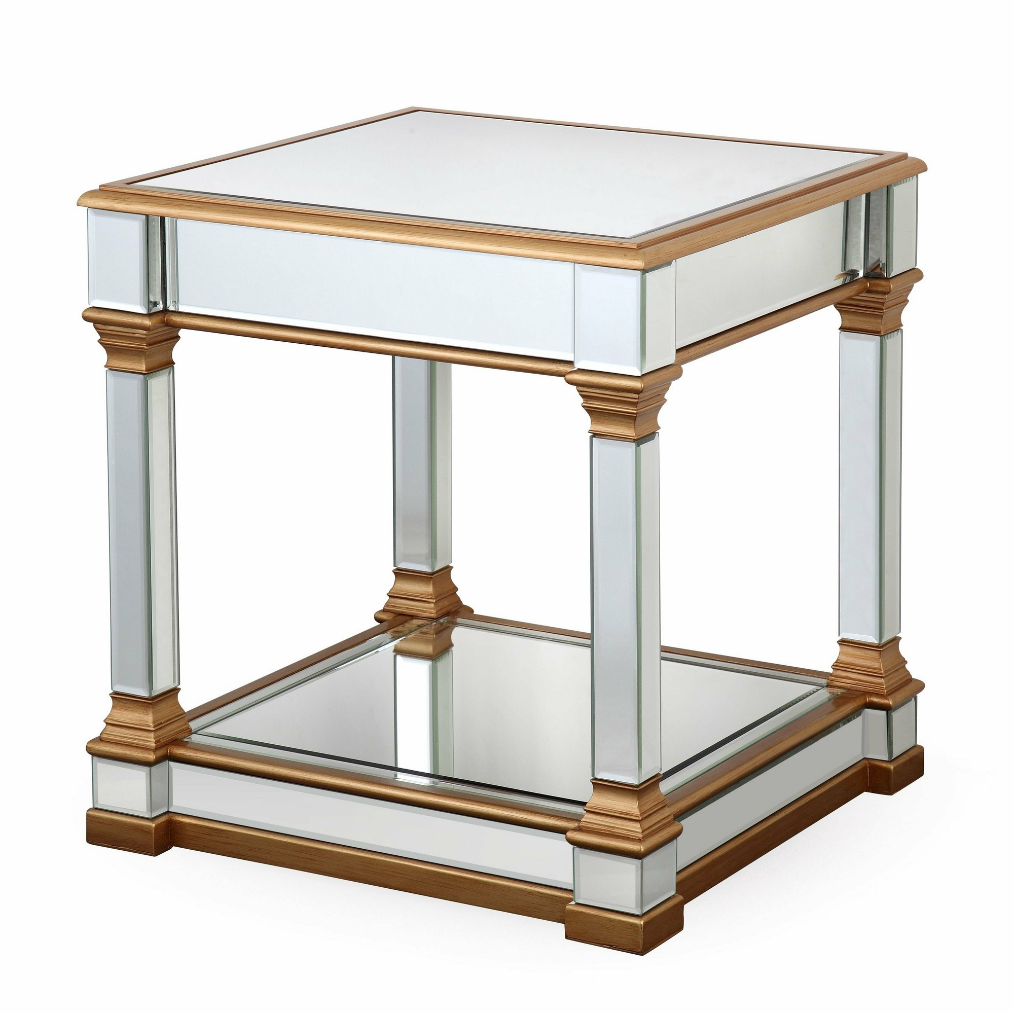 Tertenia Mirrored Side Table
