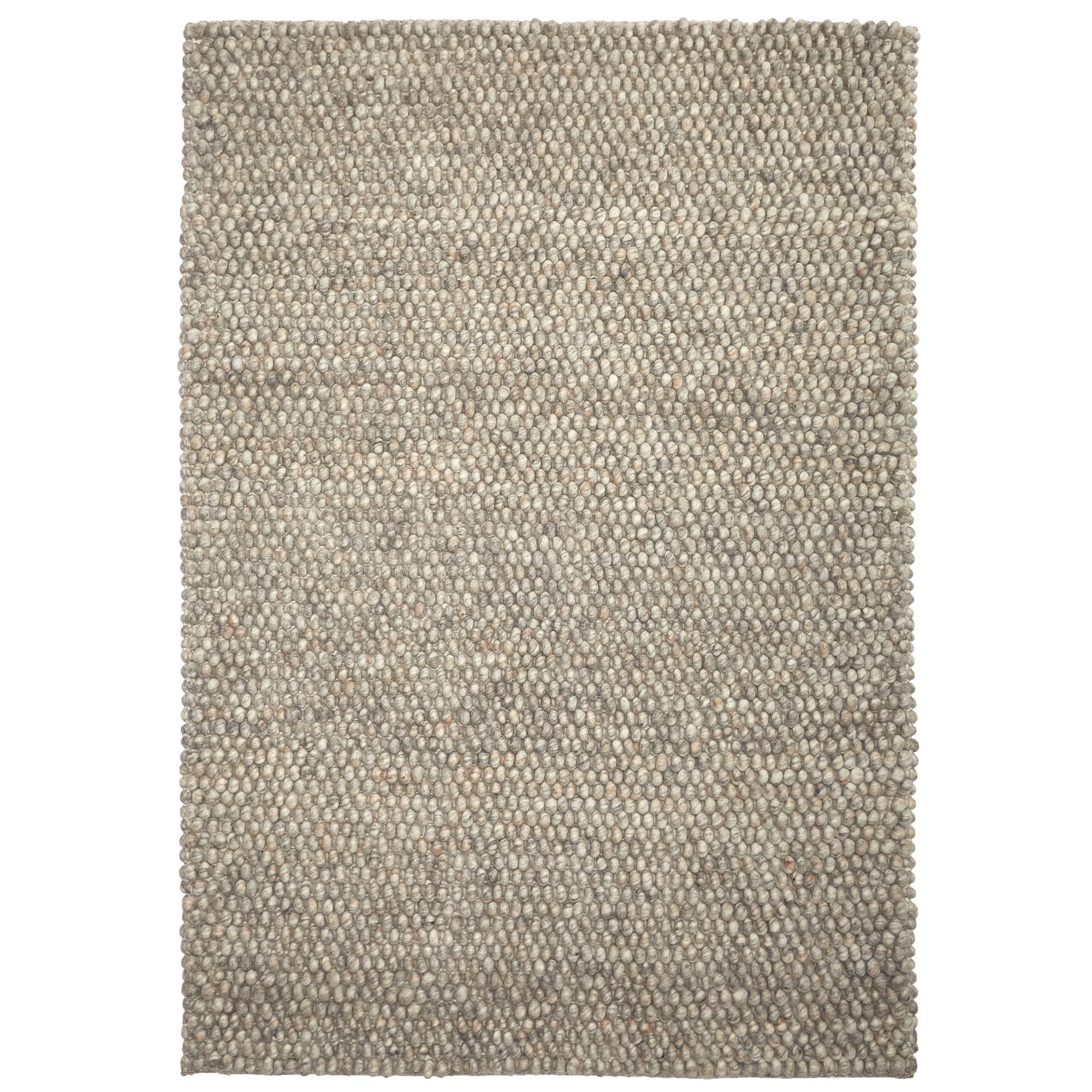 Stones Modern Wool Rug, 160x110cm, Marble