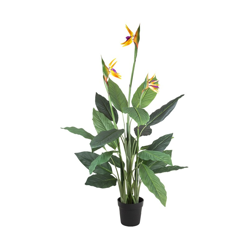 Potted Artificial Bird of Paradise Plant with Flower, 150cm