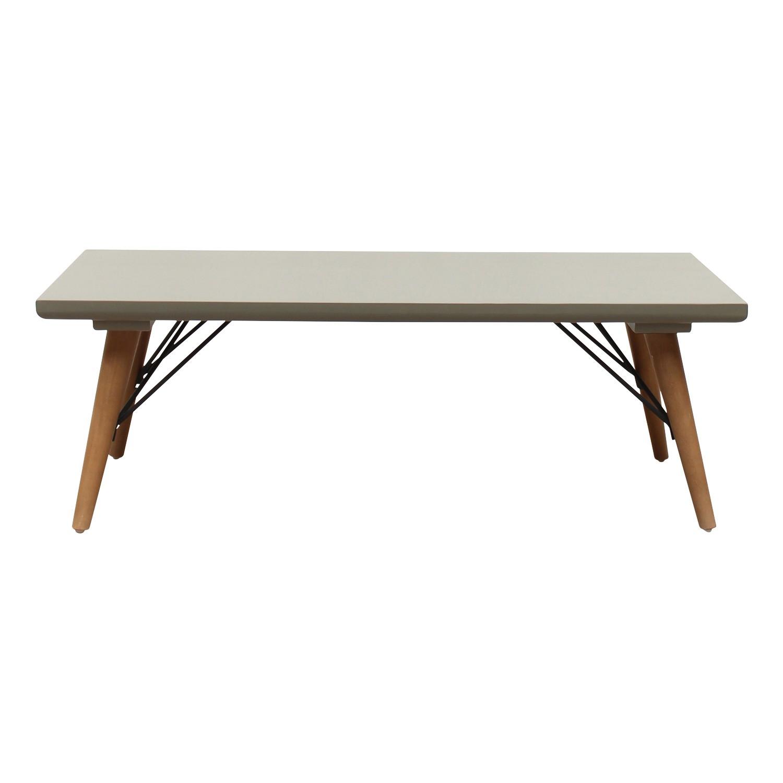 Milton Wooden Coffee Table, 120cm