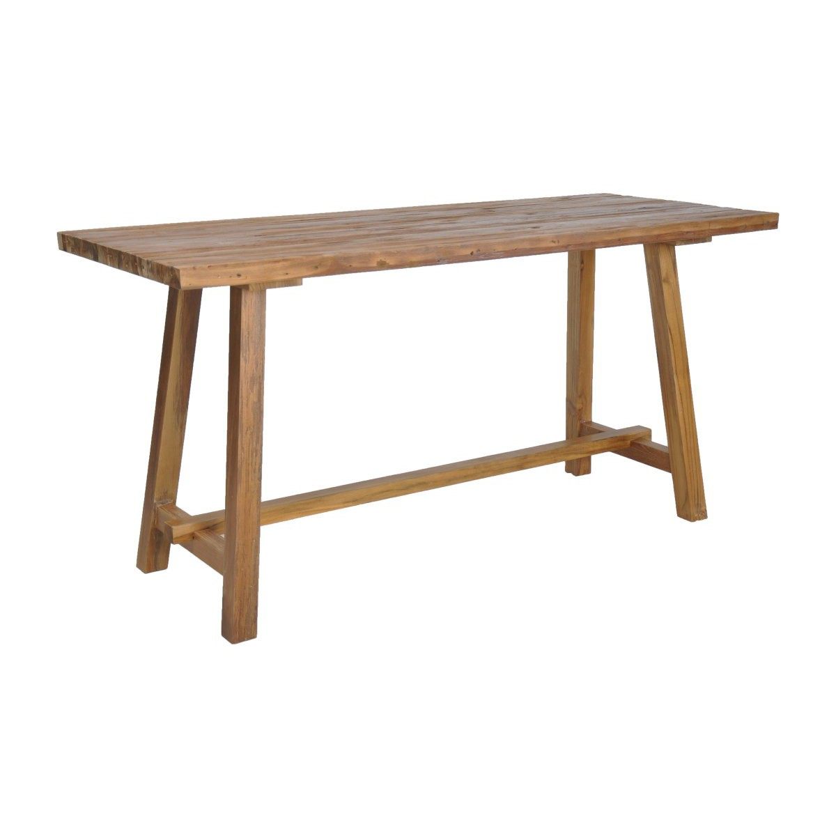 Tropica Magno Commercial Grade Reclaimed Teak Timber Workshop Desk, 160cm
