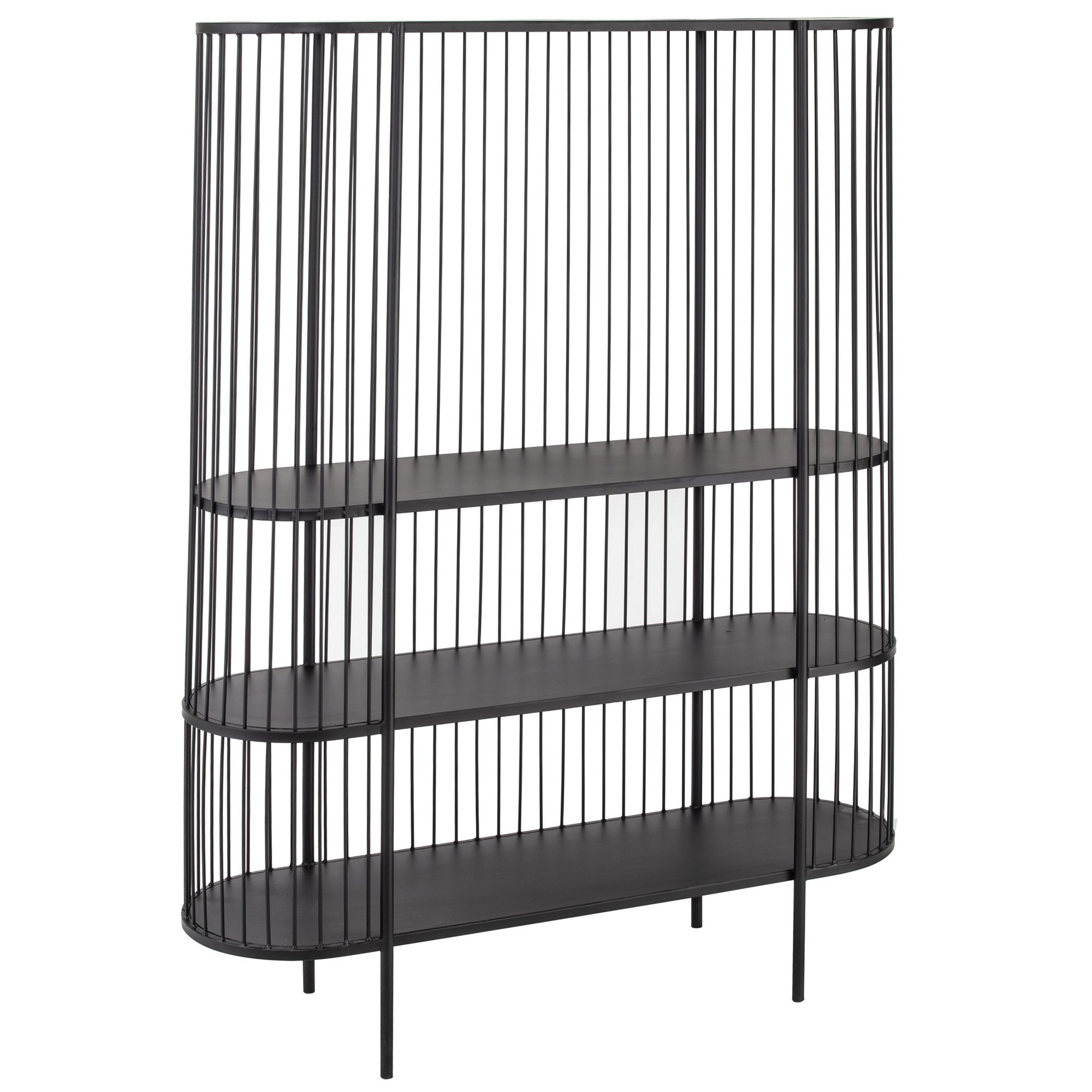 Fabien Iron Display Shelf