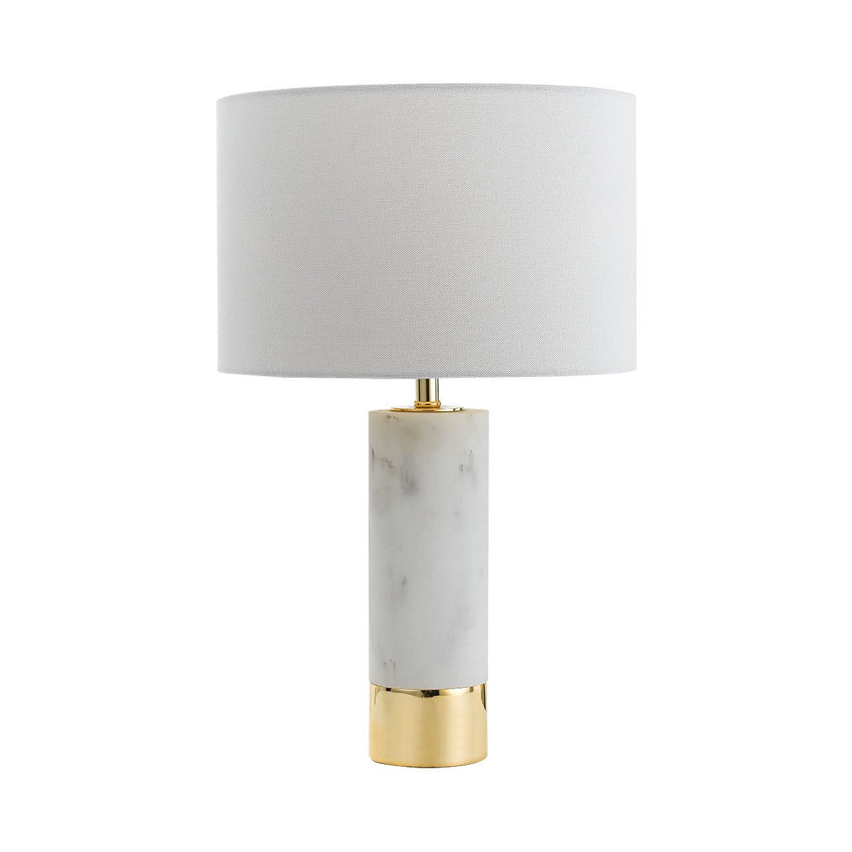 Toledo Ceramic Base Table Lamp - Gold