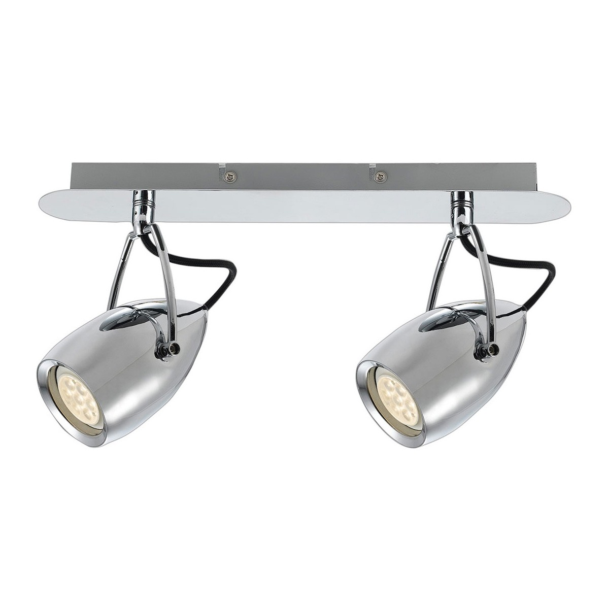 Tolosa LED Spotlight, 2 Light, Chrome