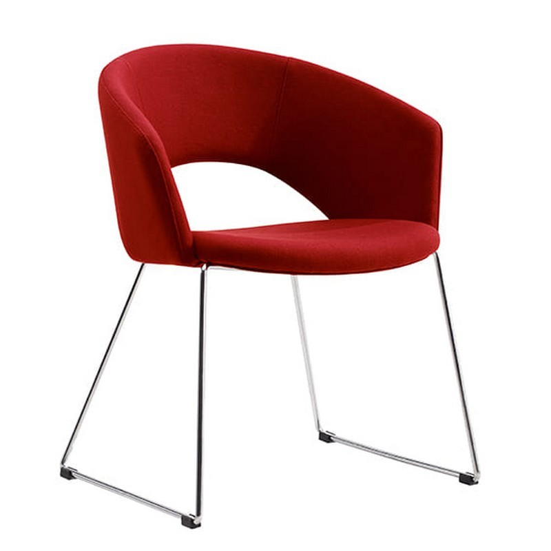 Tonic Fabric Breakout Chair, Red