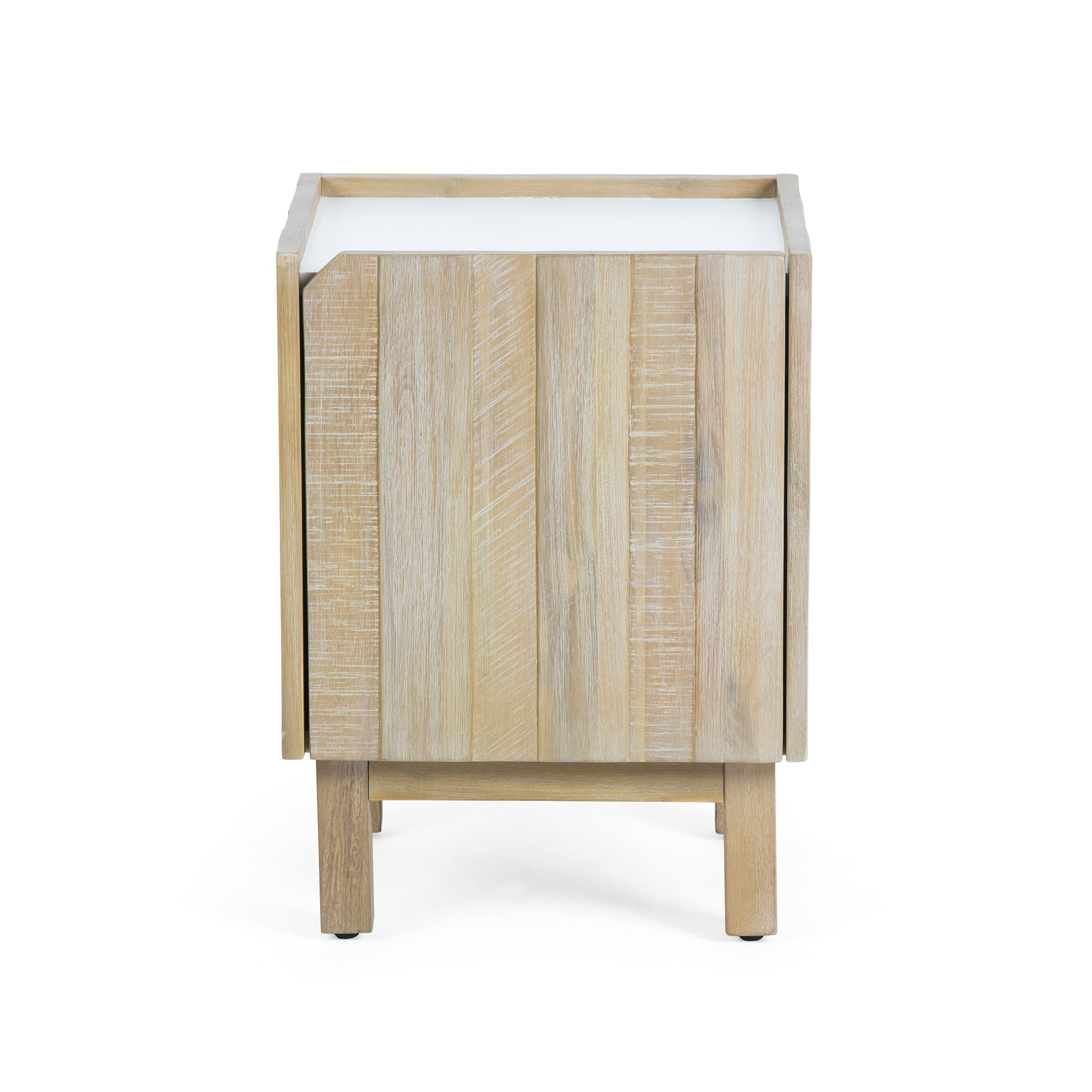 Taika Acacia Timber Bedside Table