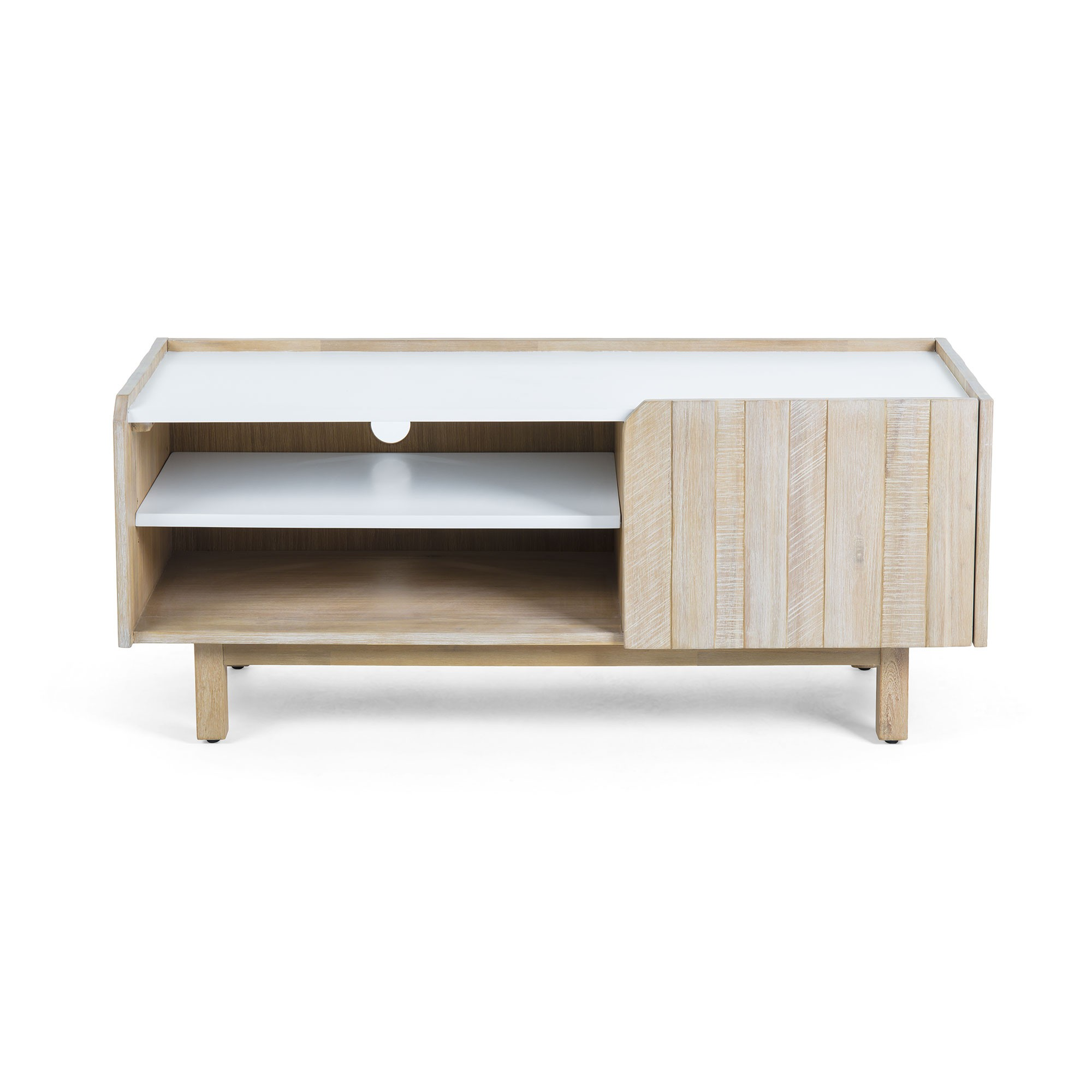 Taika Acacia Timber TV Unit, 120cm