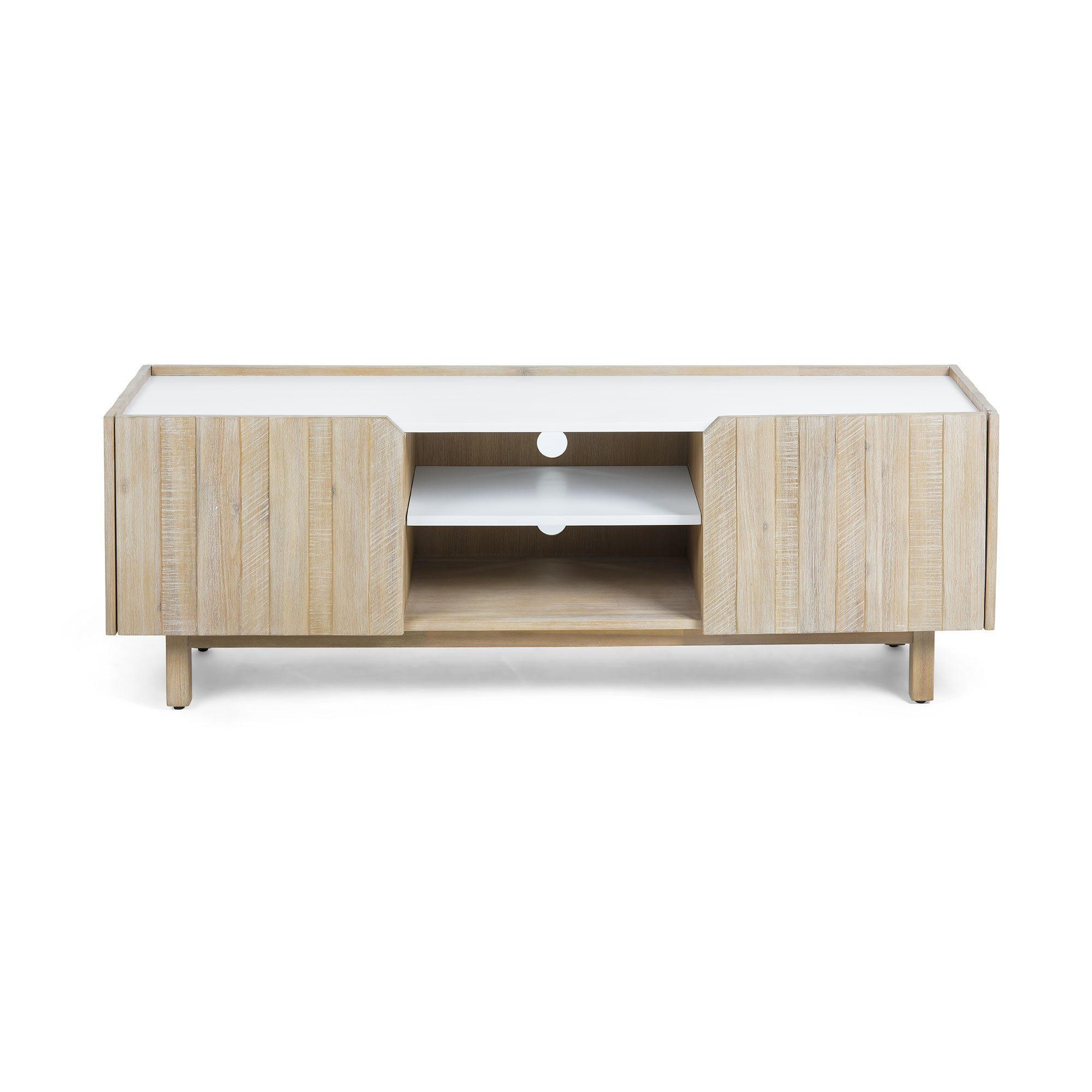 Taika Acacia Timber TV Unit, 160cm