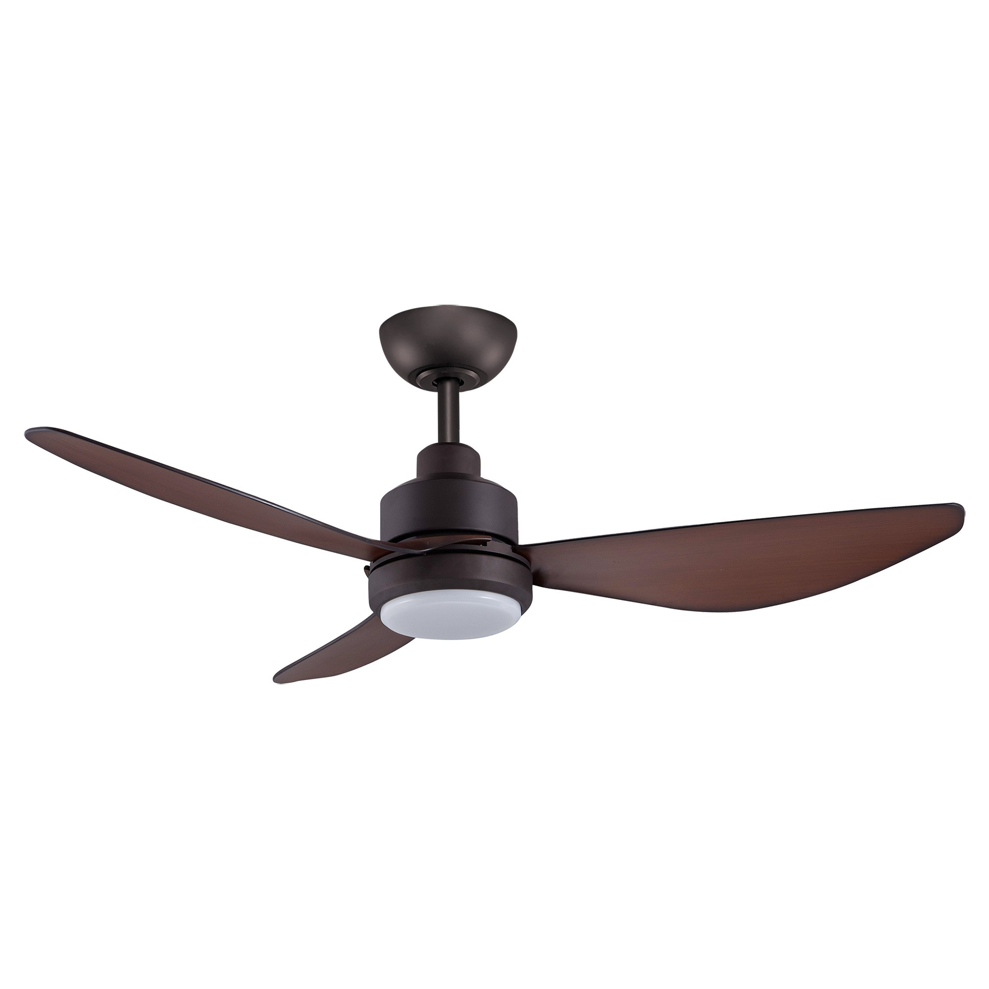 Threesixty Trinity Commercial Grade DC Ceiling Fan with LED Light, 122cm/48
