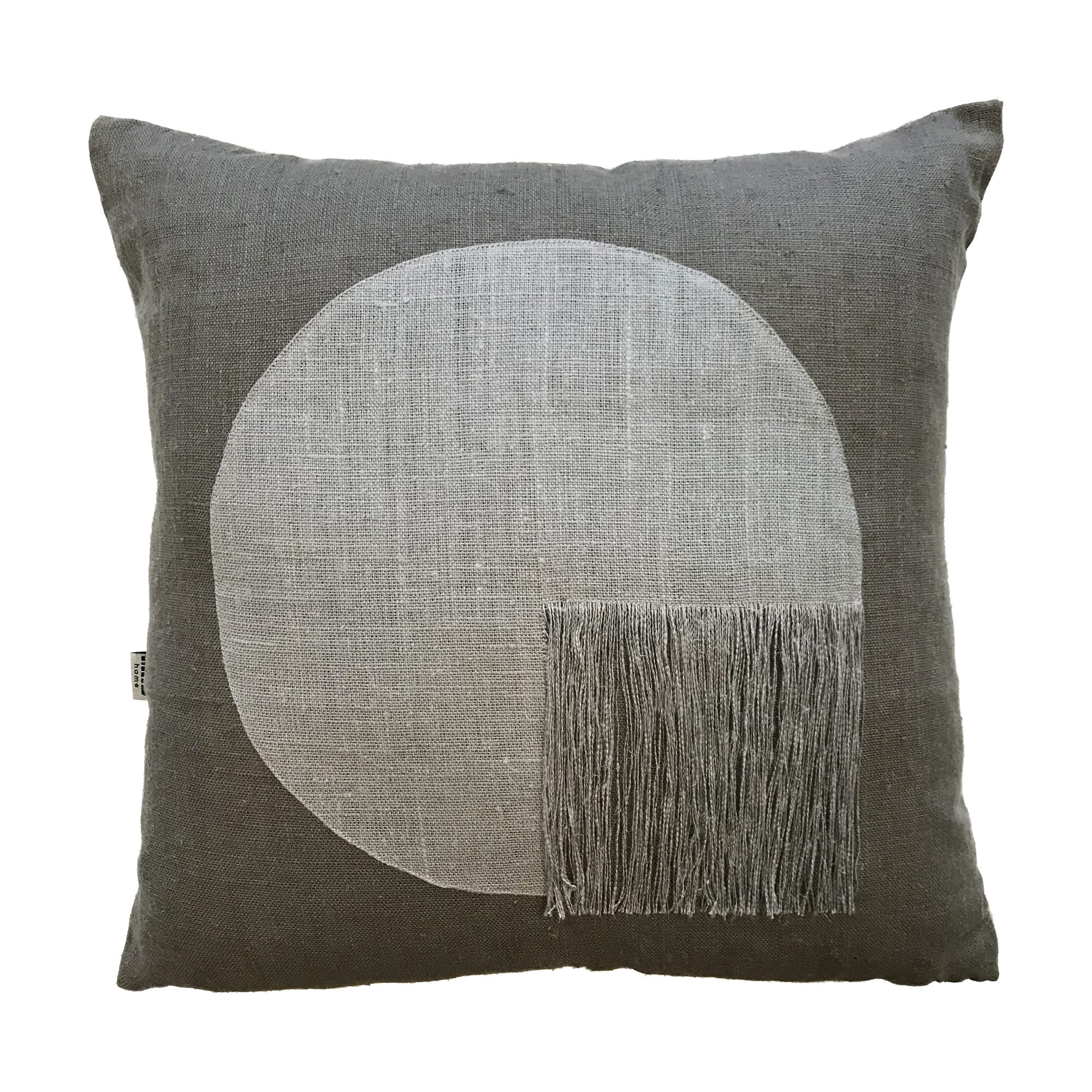 Citadel Linen Scatter Cushion, Grey