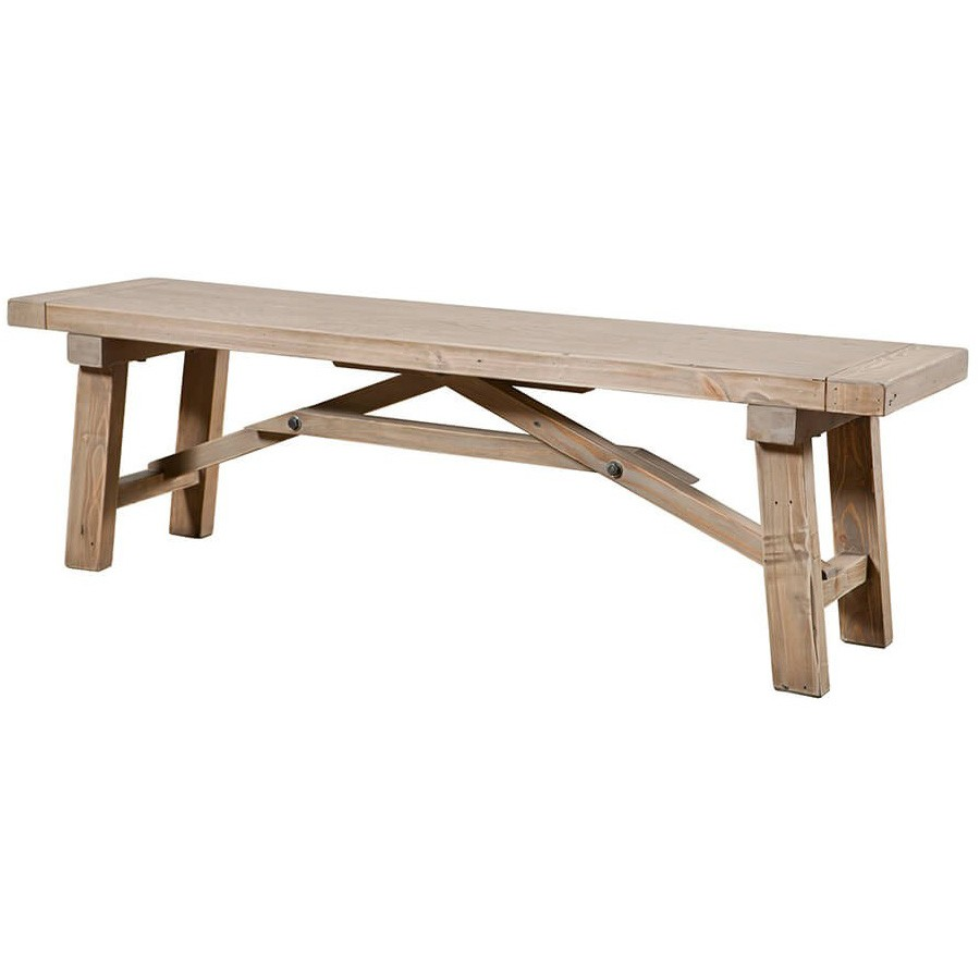 Toscana Reclaimed Timber Dining Bench, 147cm