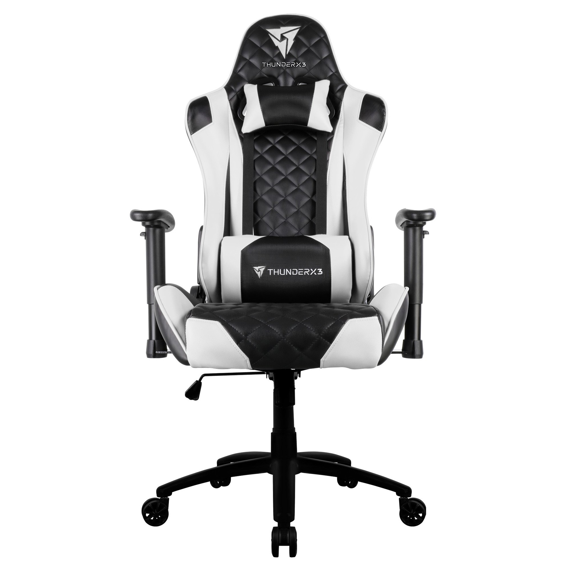 ThunderX3 TGC12 Gaming Chair, Black / White