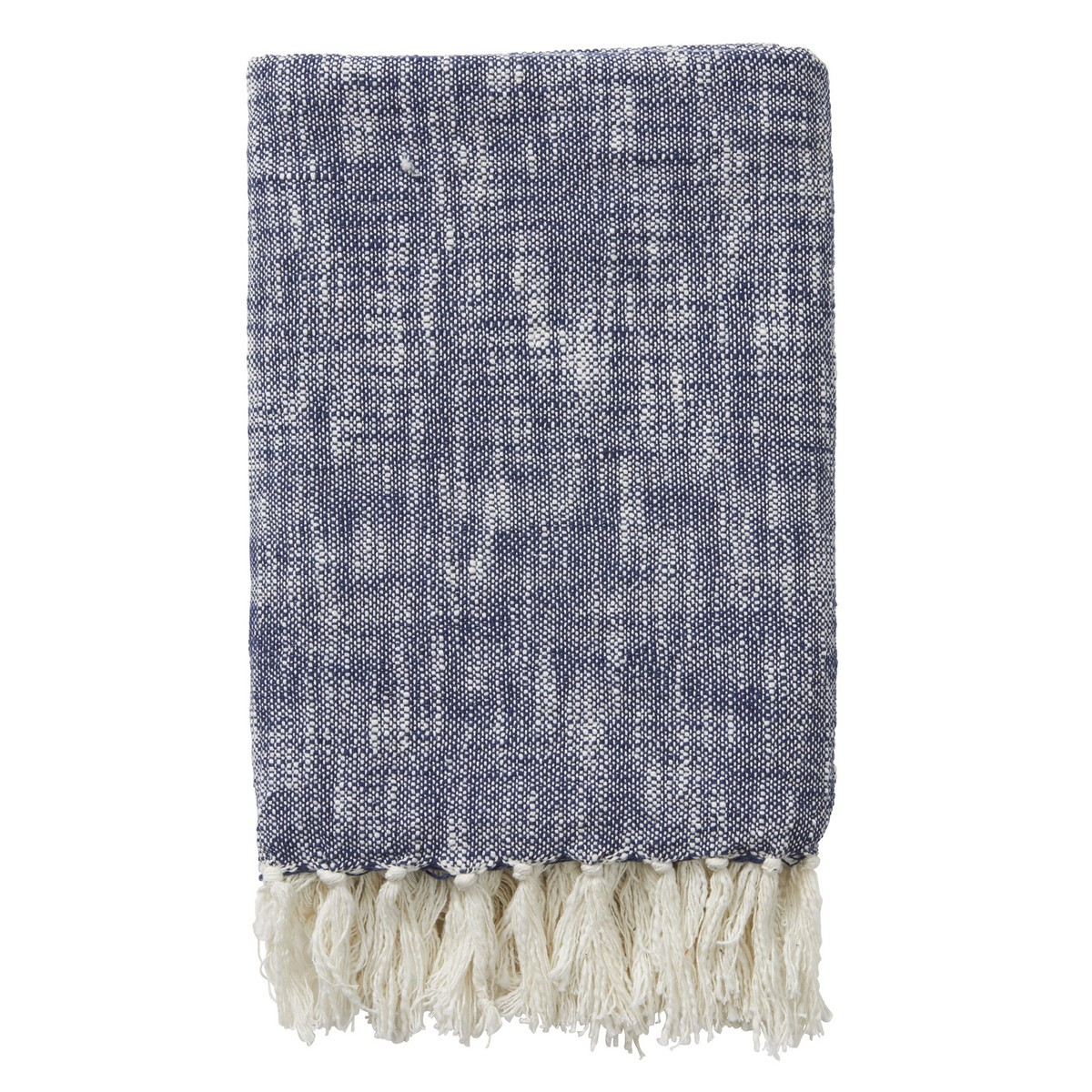 Benita Cotton Throw, 125x150cm, Blue