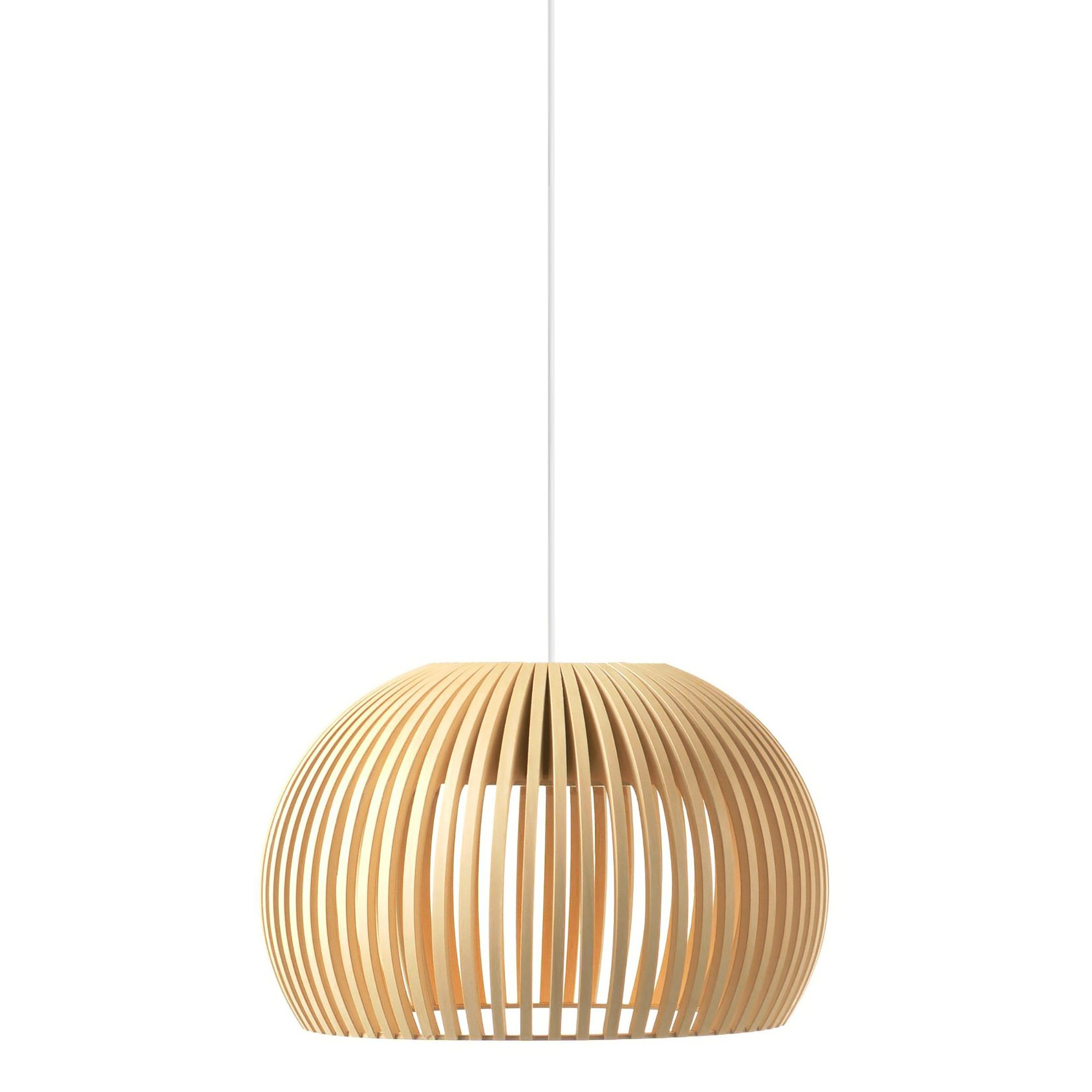 Replica Seppo Koho Atto Wooden Pendant Light, Natural