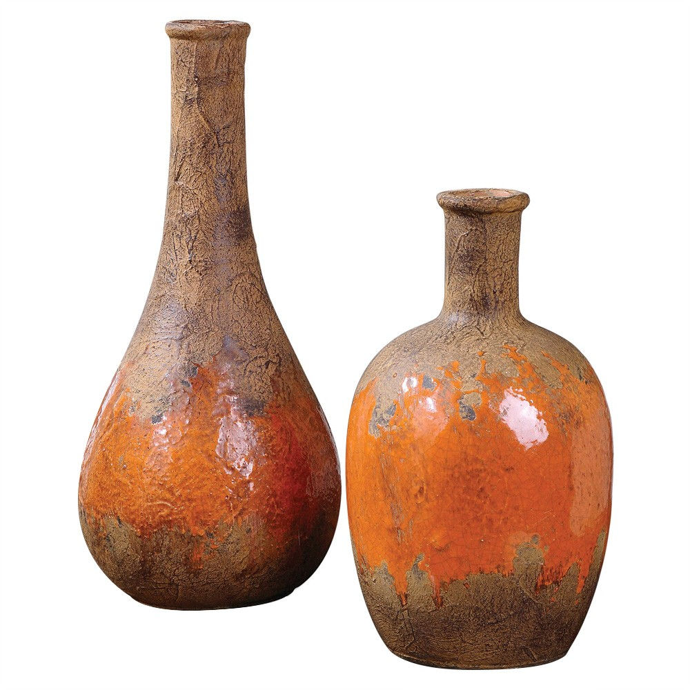 Kadam 2 Piece Ceramic Vase Set