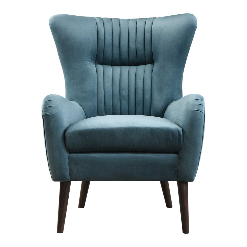 Dax Velvet Accent Chair