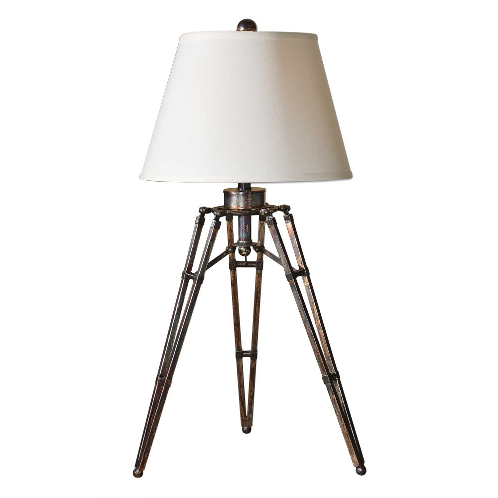 Tustin Metal Tripod Base Table Lamp