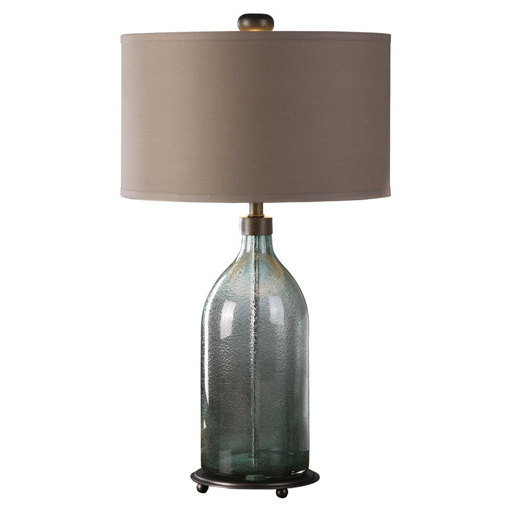 Massana Glass Base Table Lamp