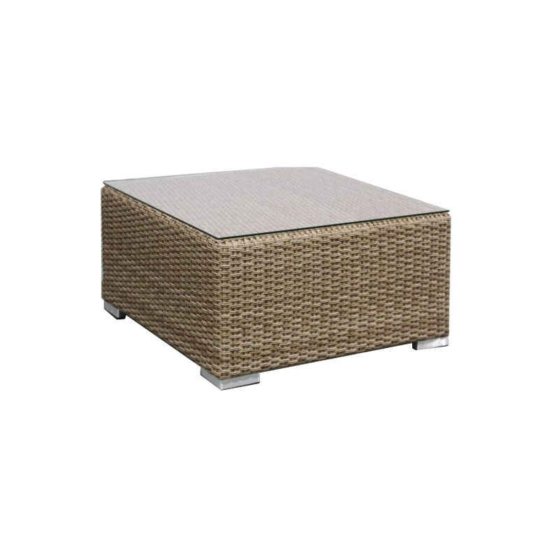 Moluman Outdoor Wicker Coffee Table
