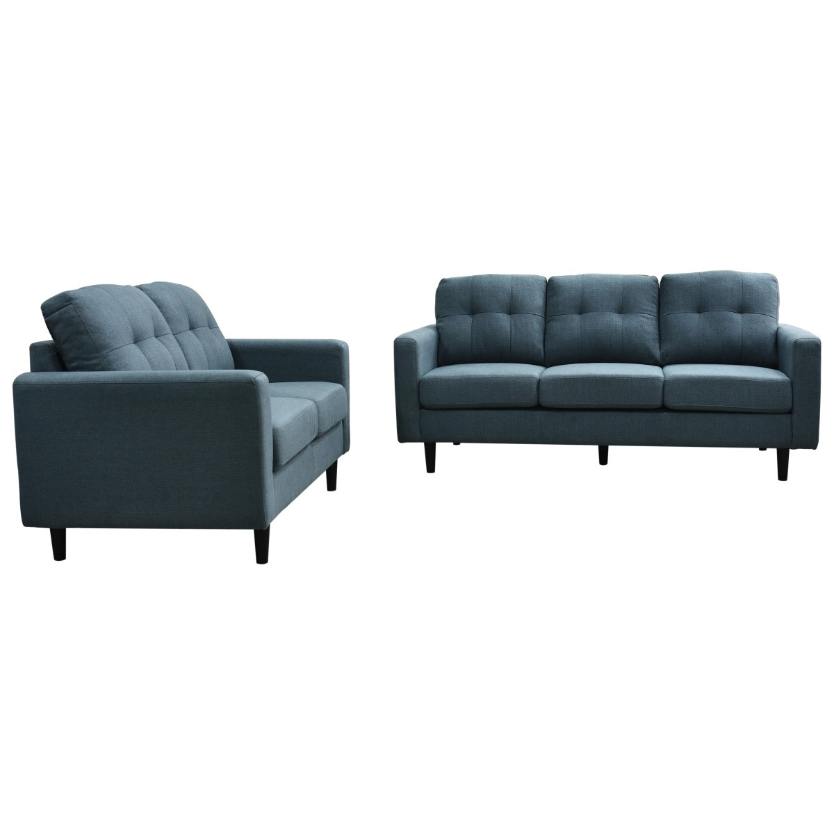 Marsha 3+2 Fabric Sofa Suite, Teal