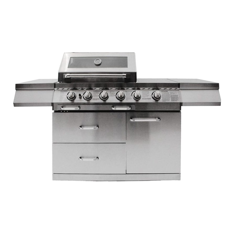 Grill King Chef 4 Burner BBQ