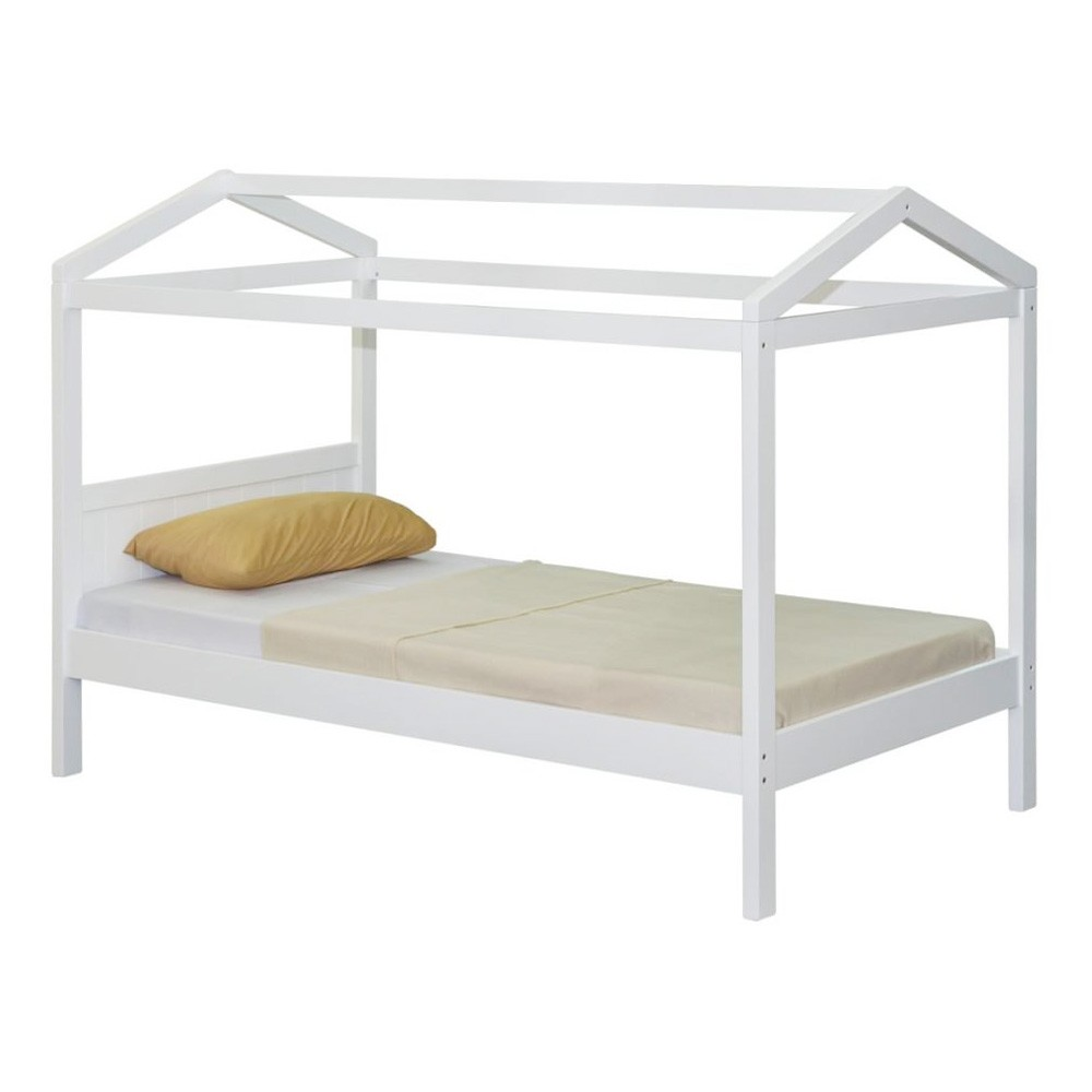 Dokka Rubberwood Kids Bed, Single