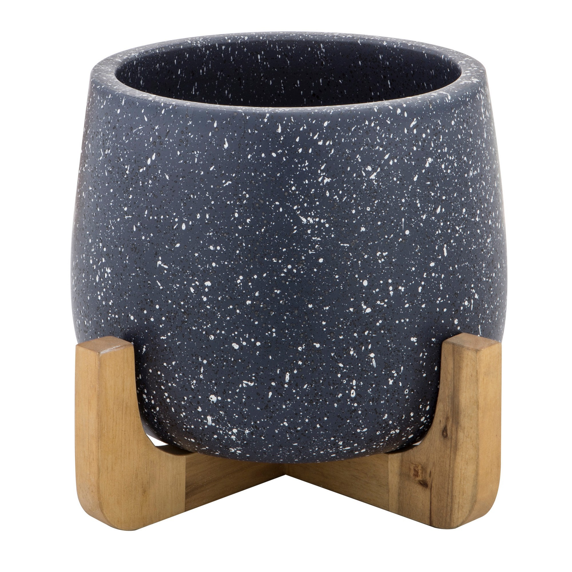 Anke Ceramic Planter Pot on Stand