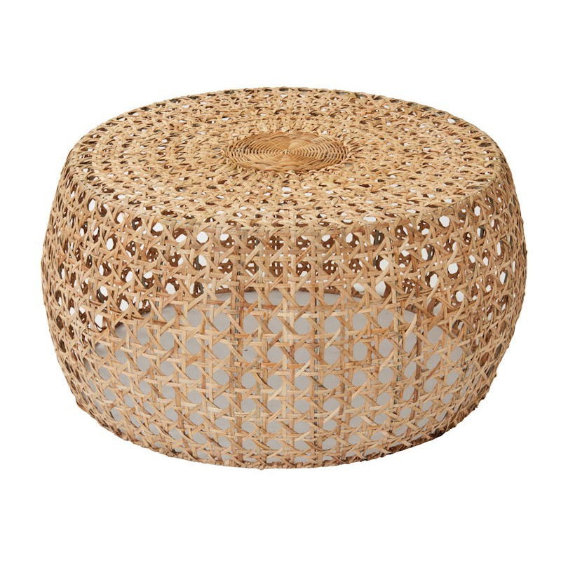 Cayman Rattan Round Coffee Table, 80cm