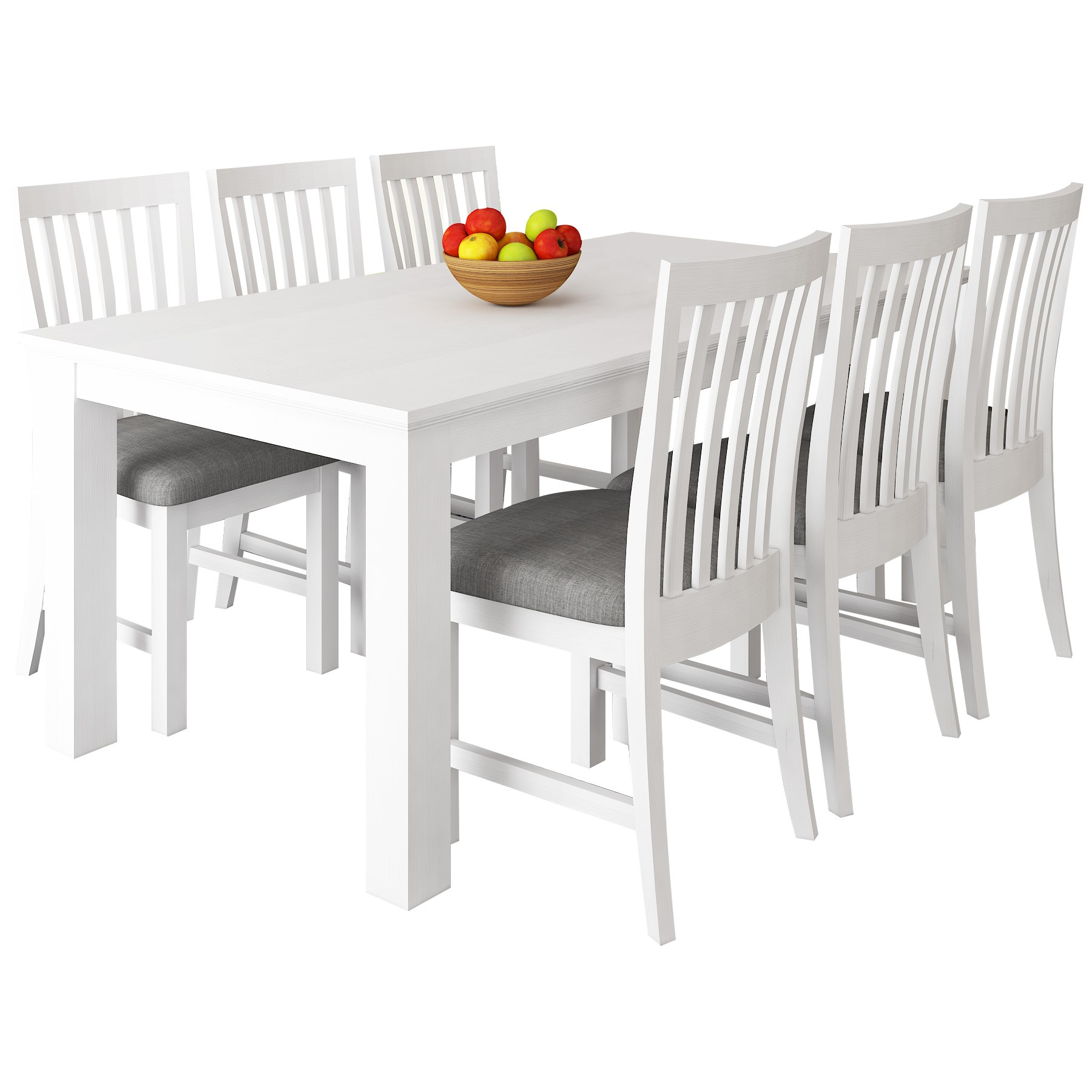 Narellan 7 Piece Acacia Timber Dining Table Set, 180cm
