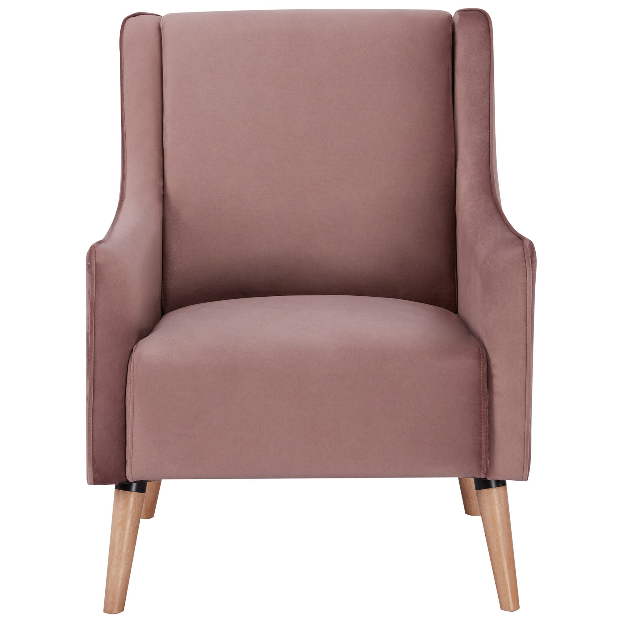 Boneo Fabric Armchair, Blush