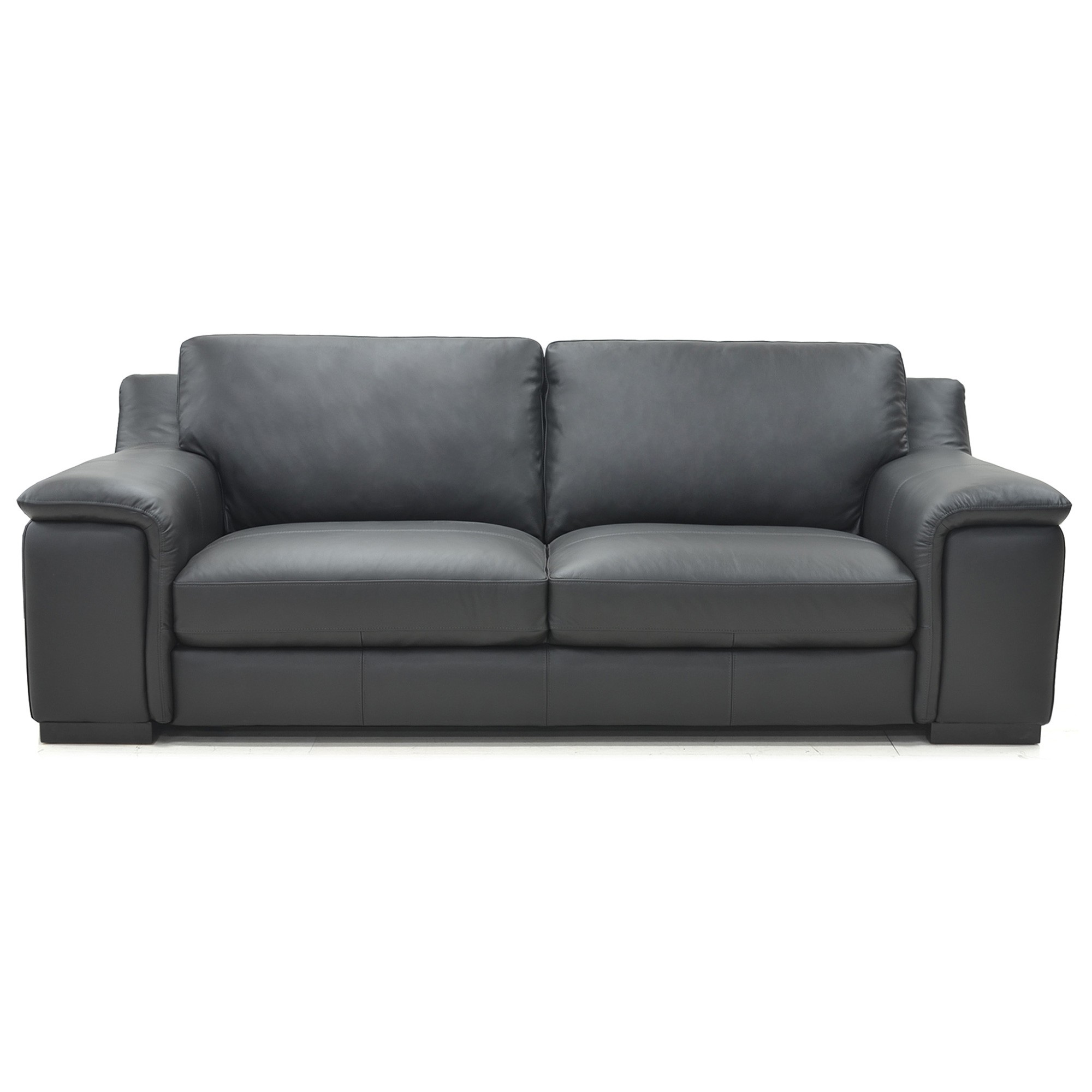 Herbster Leather Sofa, 2.5 Seater