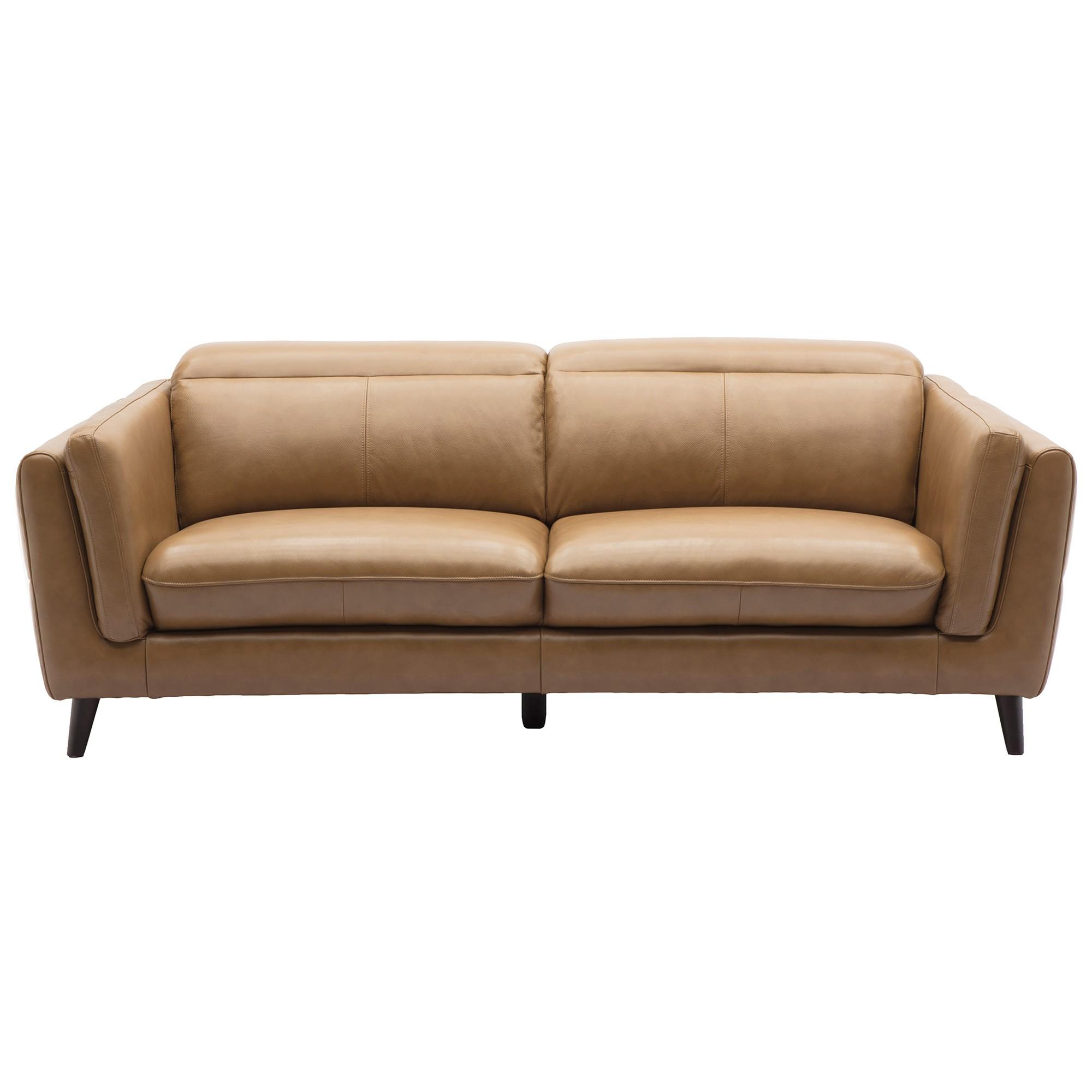 Casco Leather Sofa, 2.5 Seater