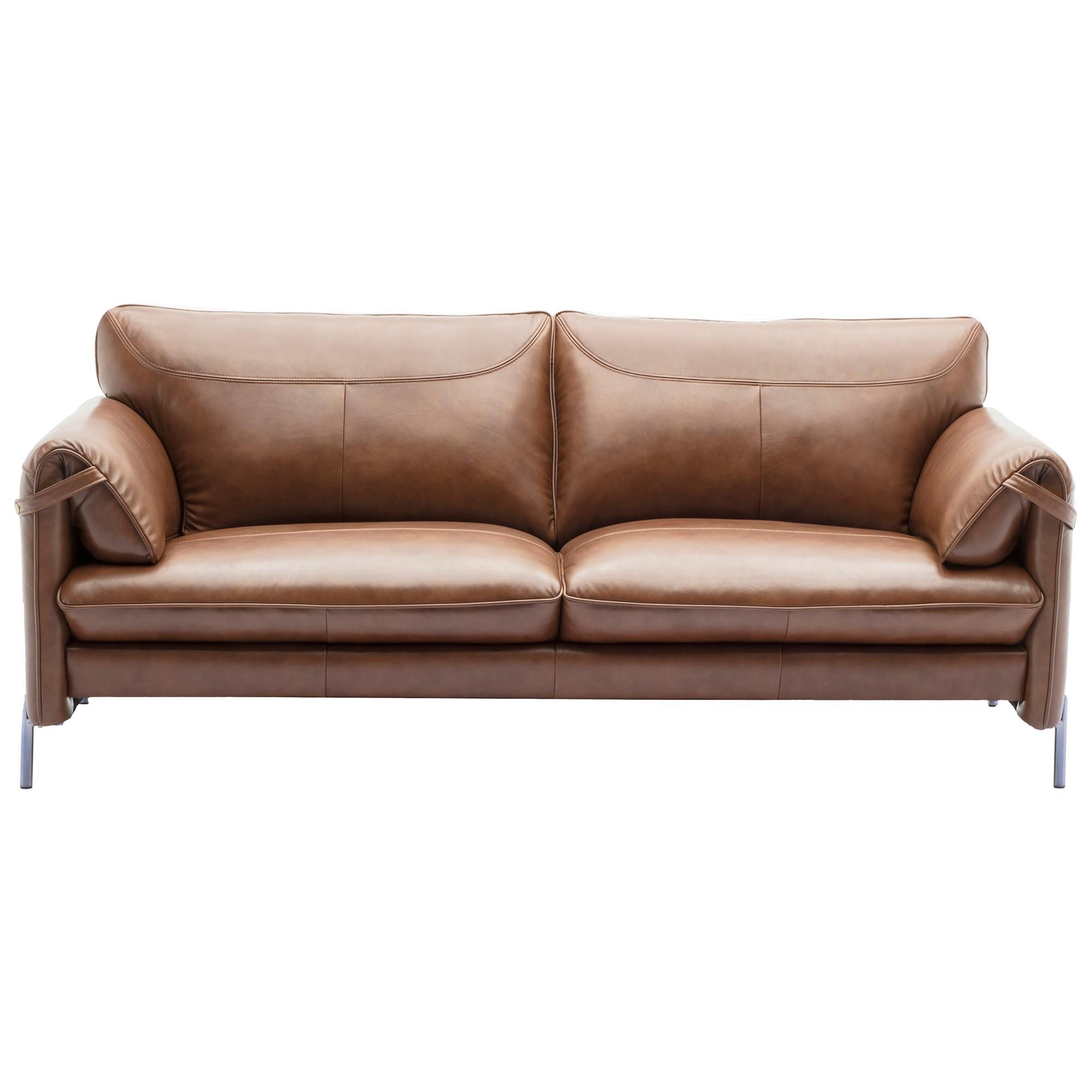 Alverno Leather Sofa, 2.5 Seater