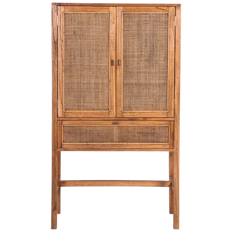 Bairnsdale Mindi Wood Cupboard