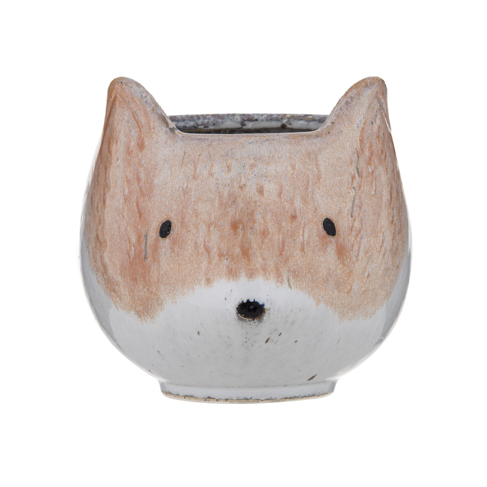 Felix Ceramic Fox Pot