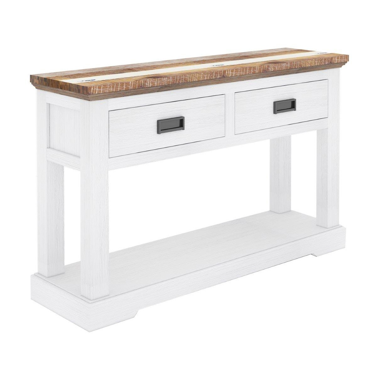 Largo Acacia Timber Console Table, 125cm