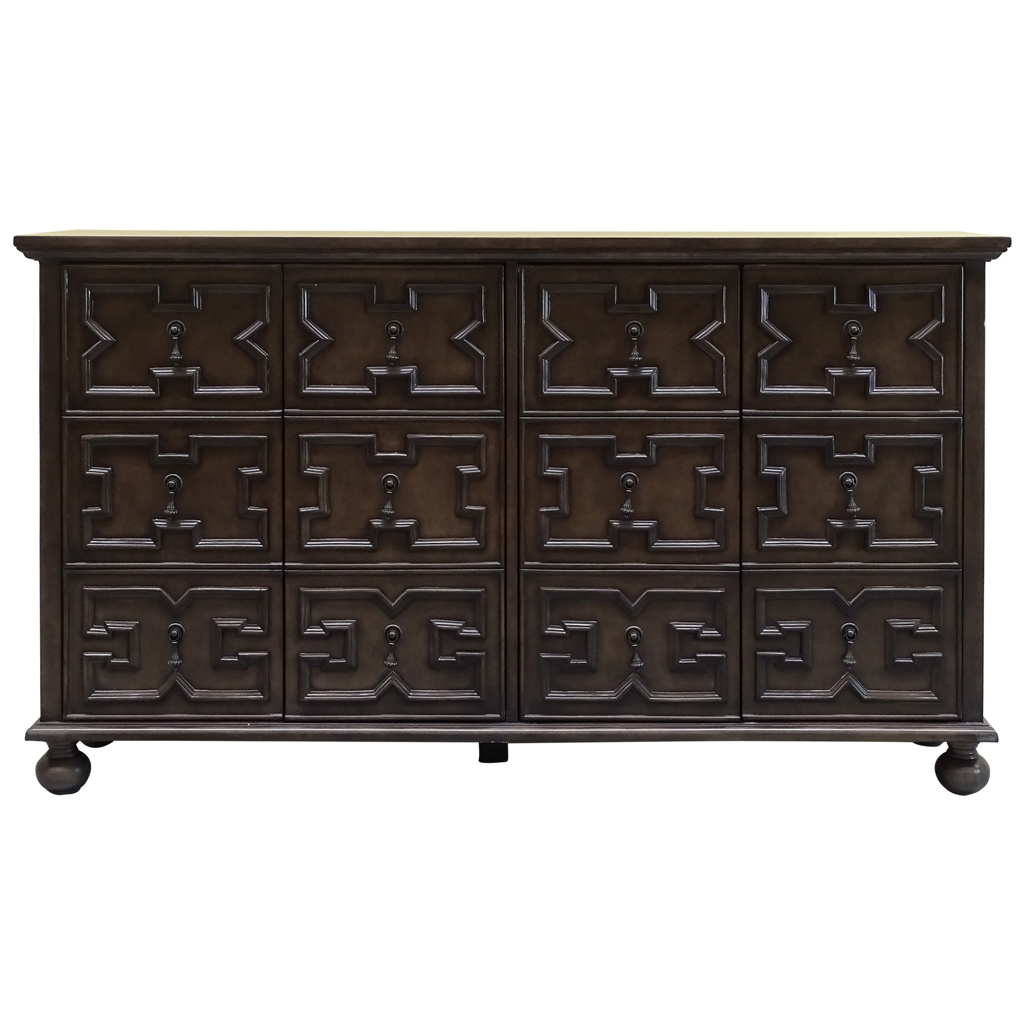 Oscar 4 Door Buffet Table, 158cm