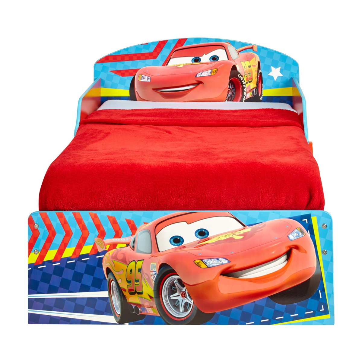 Worlds Apart Cars II Toddler Bed