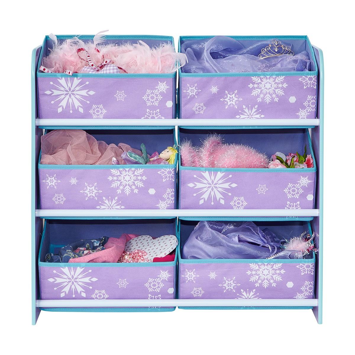Worlds Apart Frozen 6 Bin Storage Unit