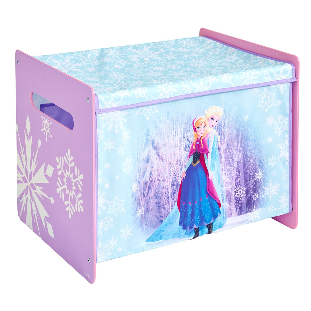 Worlds Apart Frozen Fabric Toy Box