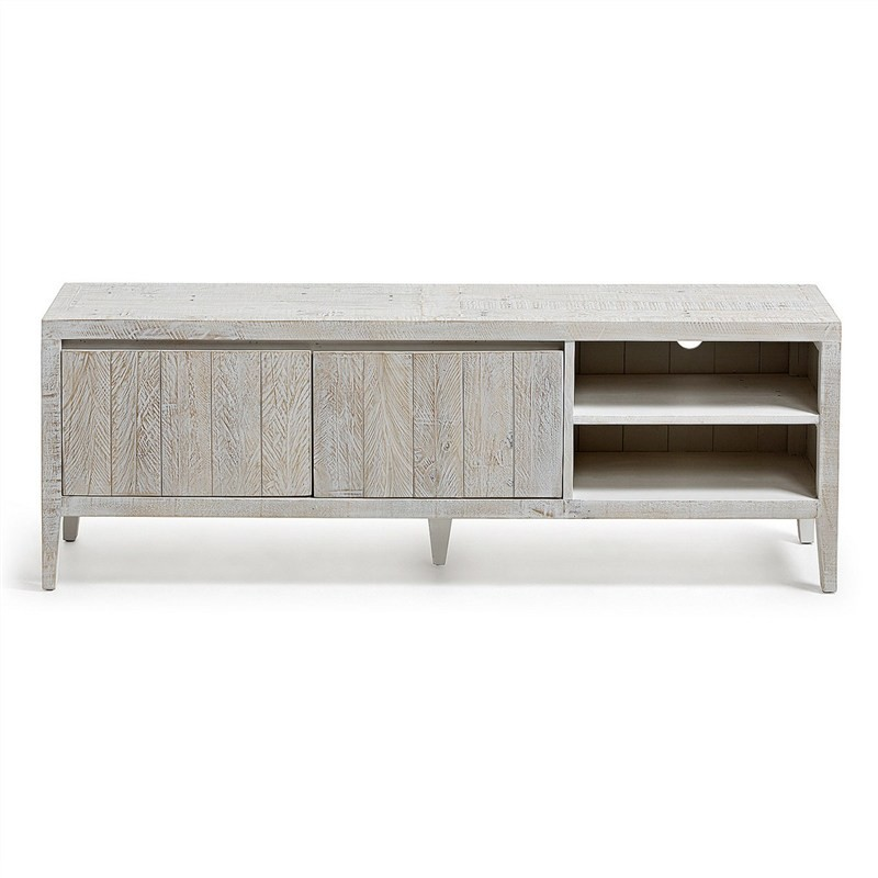 Woodend Reclaimed Pine Timber TV Unit, 160cm